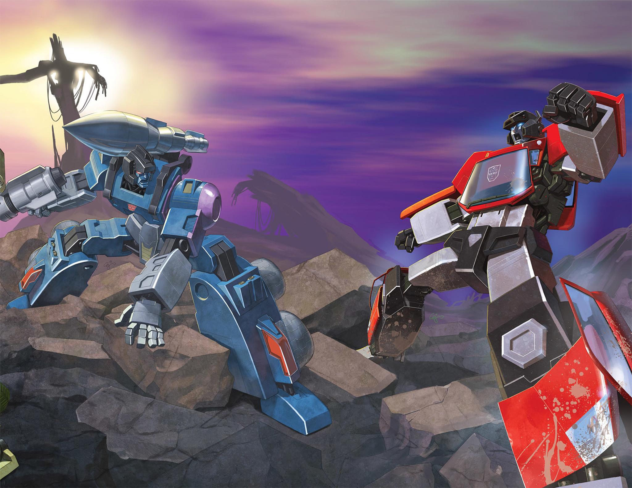 Read online Transformers Spotlight: Sideswipe comic -  Issue # Full - 3