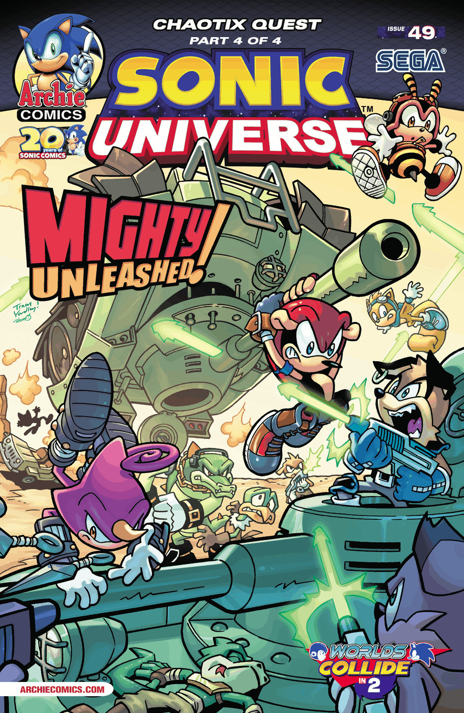 Read online Sonic Universe comic -  Issue #49 - 1