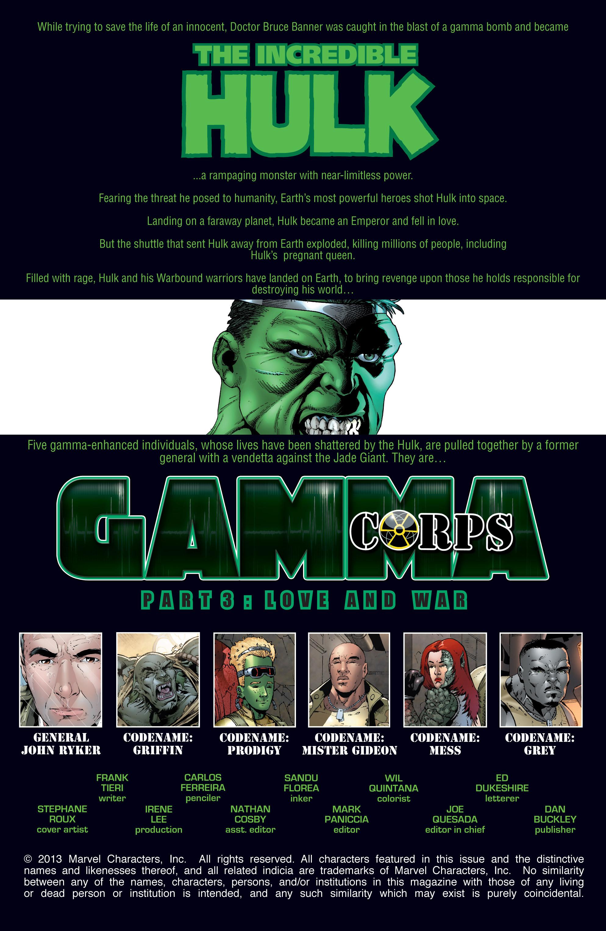 Read online World War Hulk: Gamma Corps comic -  Issue #3 - 2