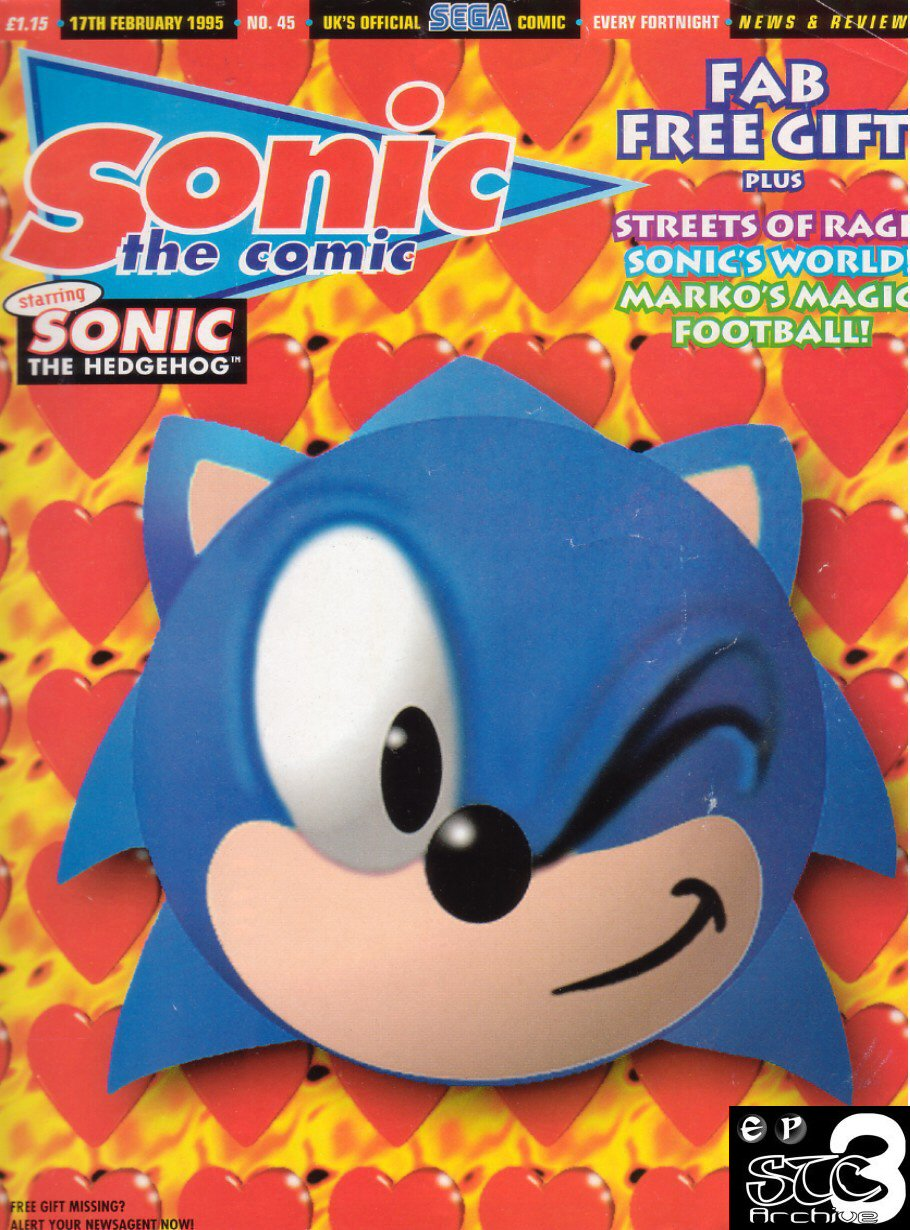 Read online Sonic the Comic comic -  Issue #45 - 1