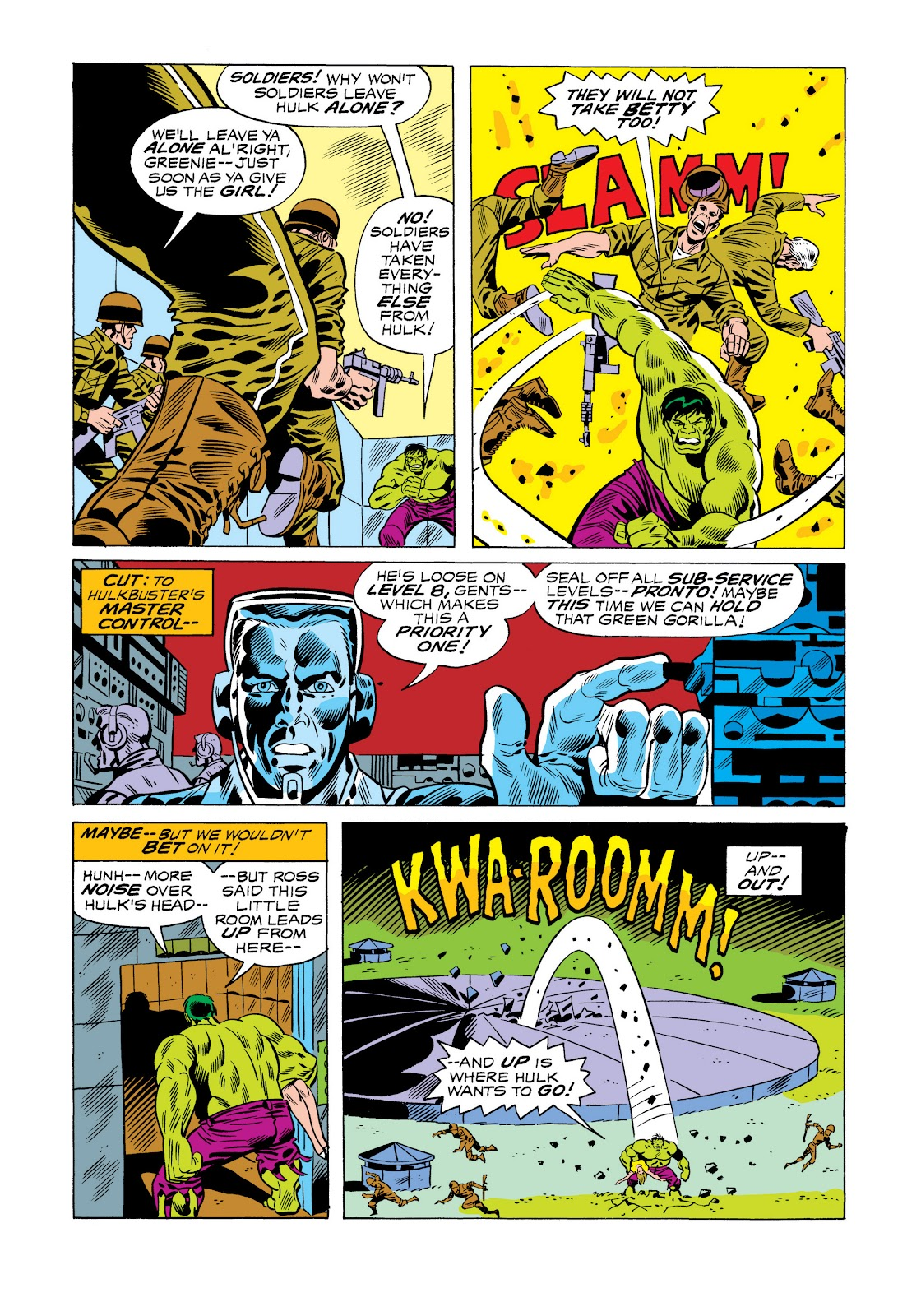 Read online Marvel Masterworks: The Incredible Hulk comic -  Issue # TPB 11 (Part 1) - 38