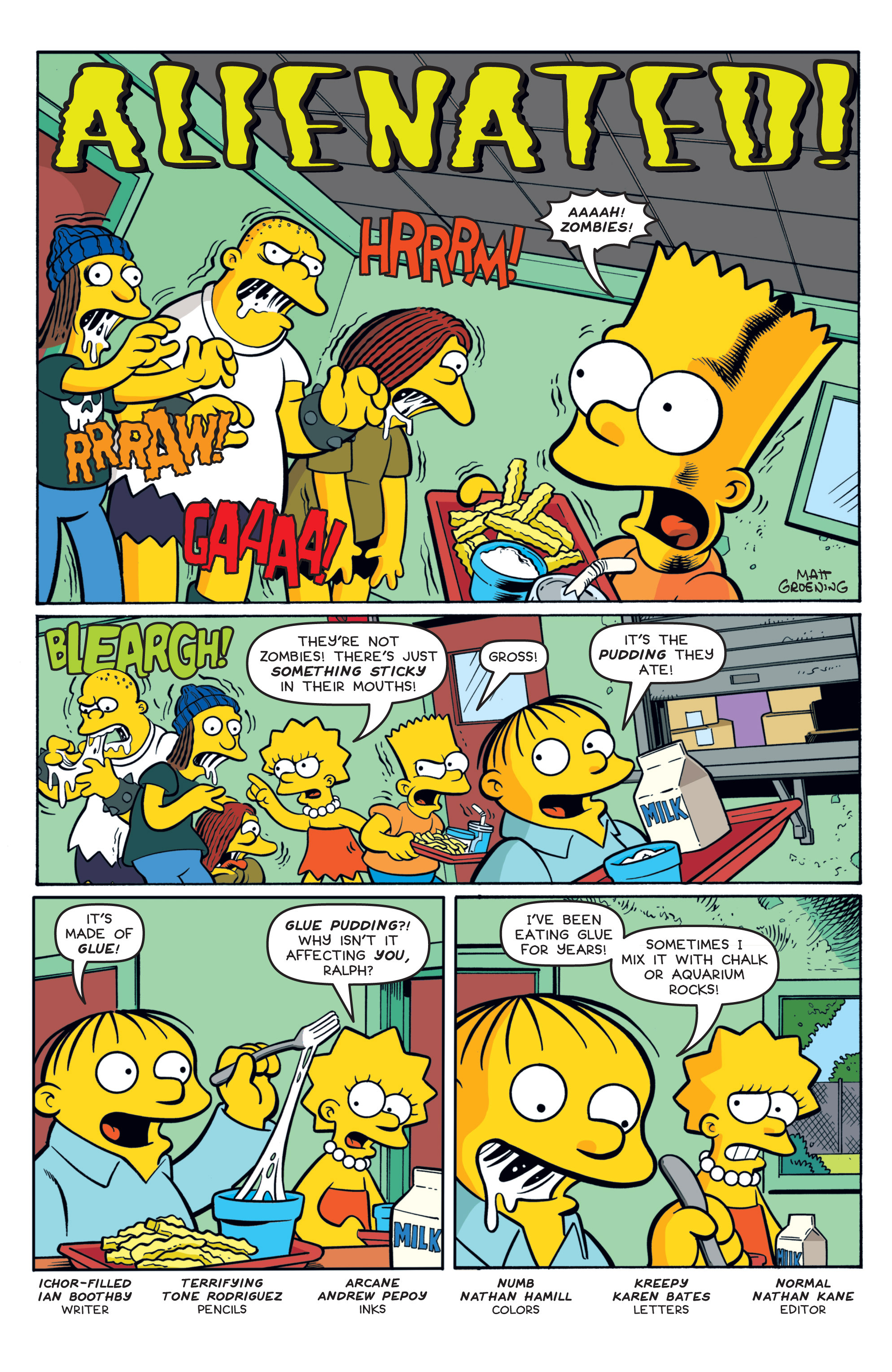 Read online Treehouse of Horror comic -  Issue #19 - 13