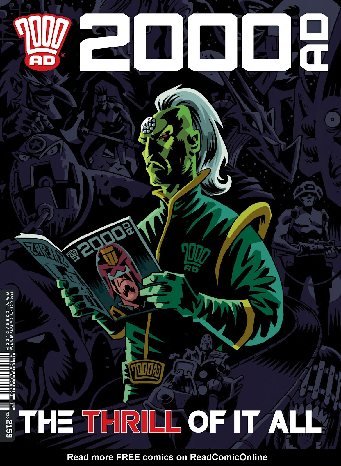 2000 AD issue 2159 - Page 1