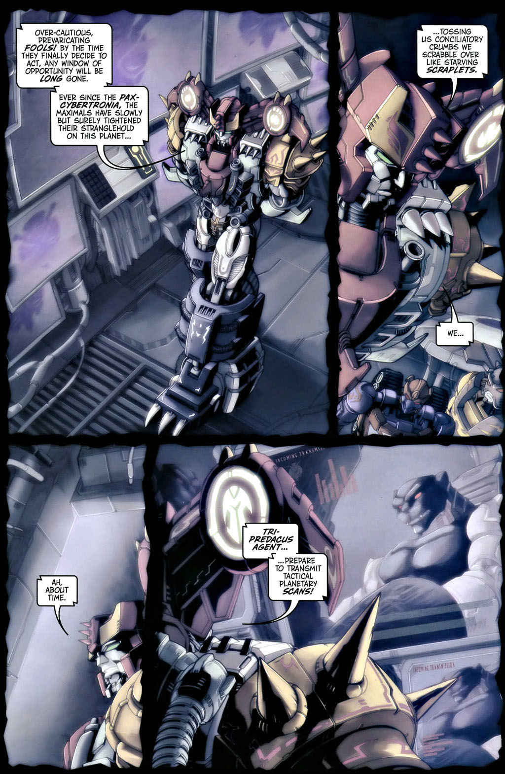 Read online Transformers, Beast Wars: The Gathering comic -  Issue #1 - 10