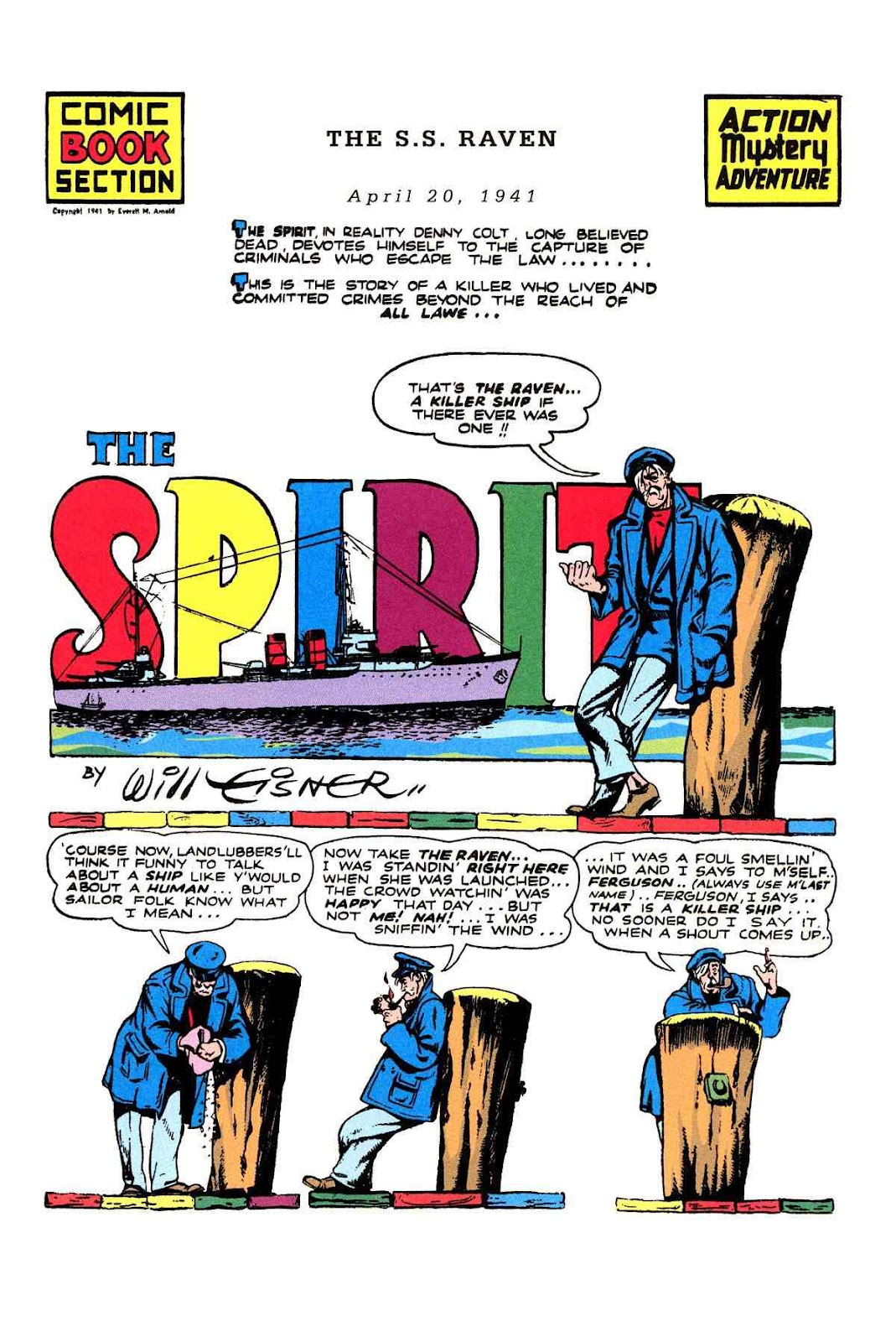 Read online Will Eisner's The Spirit Archives comic -  Issue # TPB 2 (Part 2) - 21