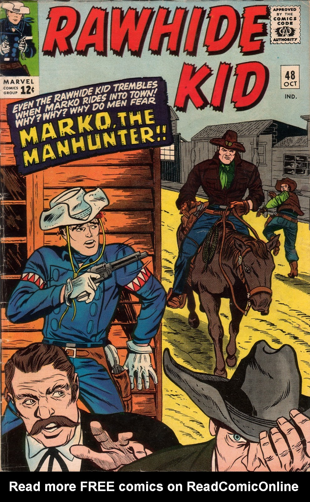 The Rawhide Kid (1955) issue 48 - Page 1