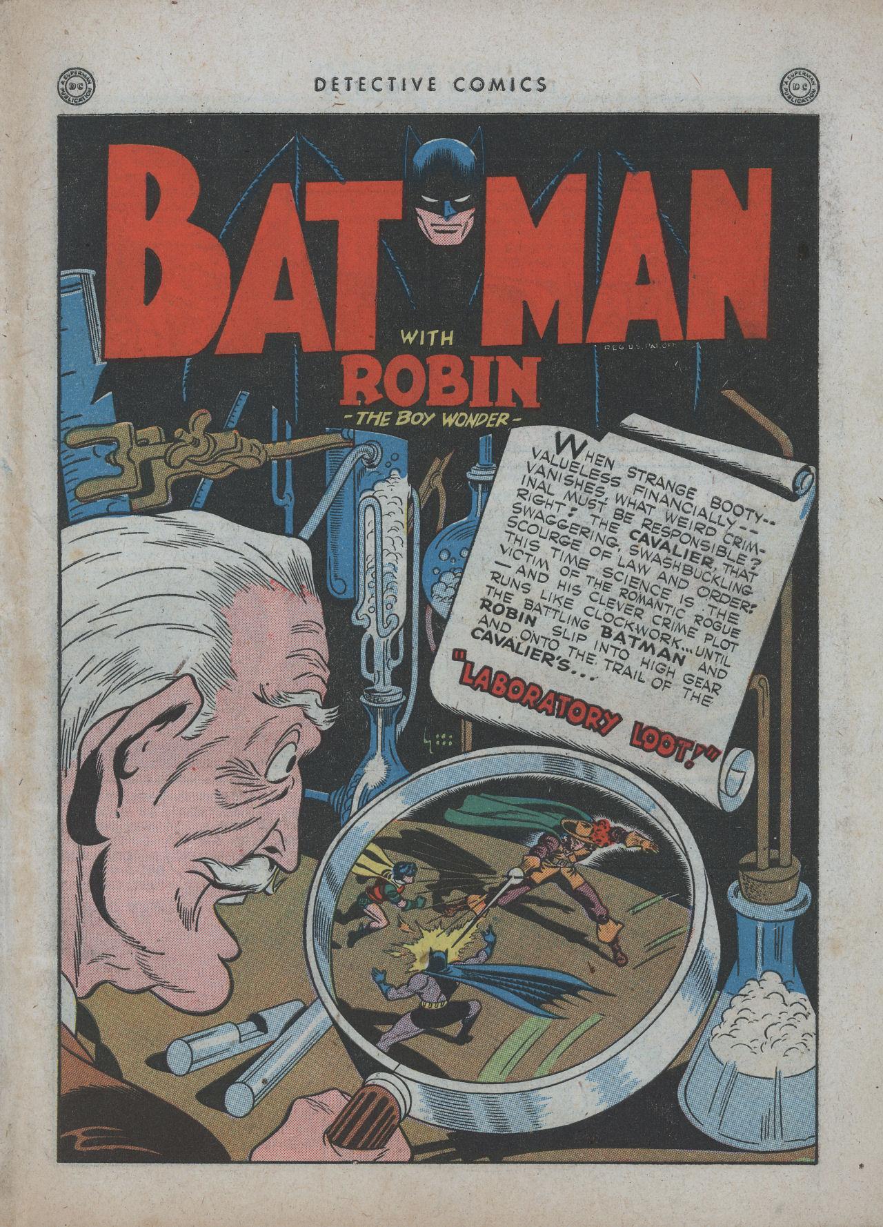 Read online Detective Comics (1937) comic -  Issue #89 - 3