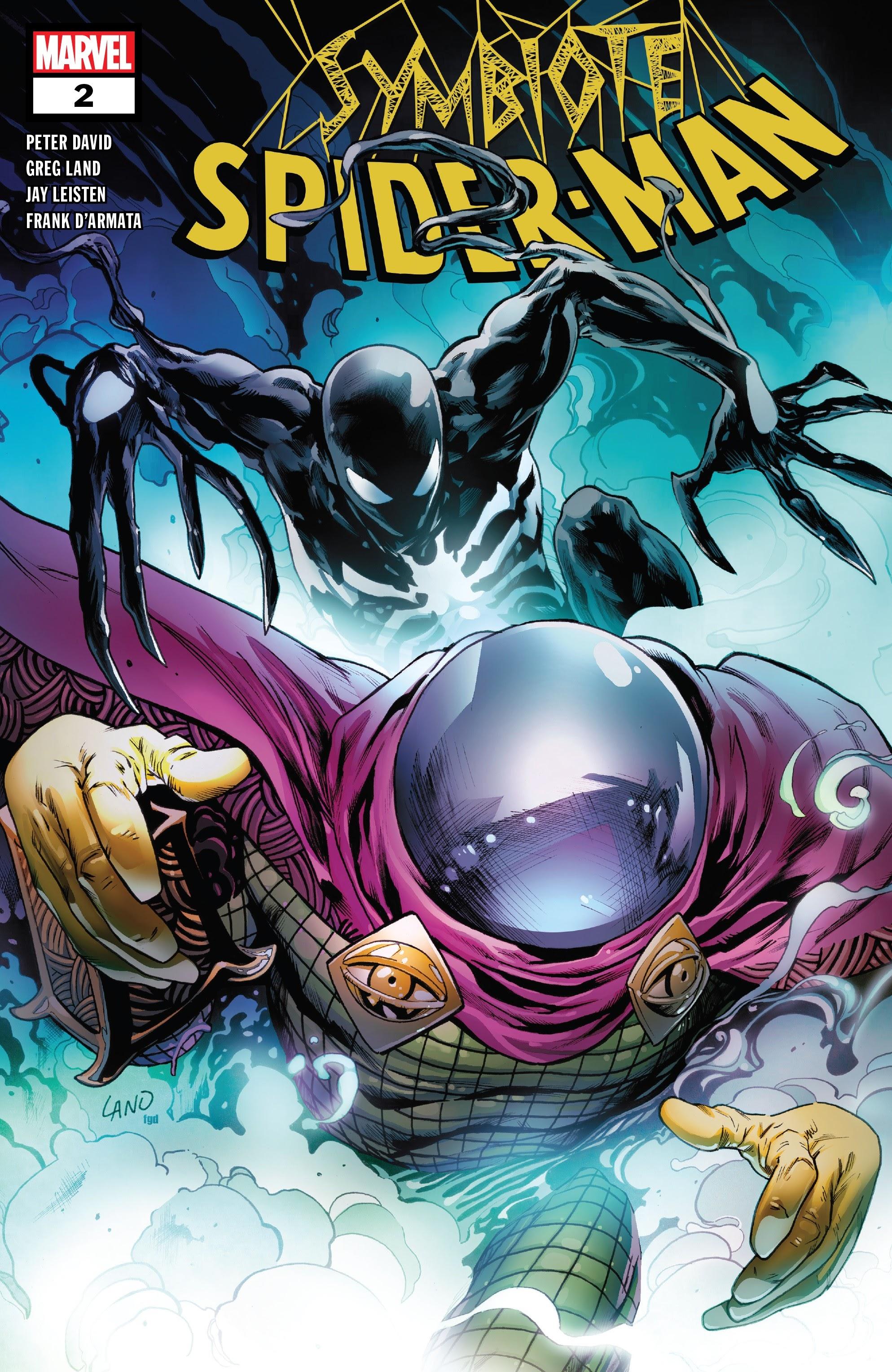 Symbiote Spider-Man 2 Page 1