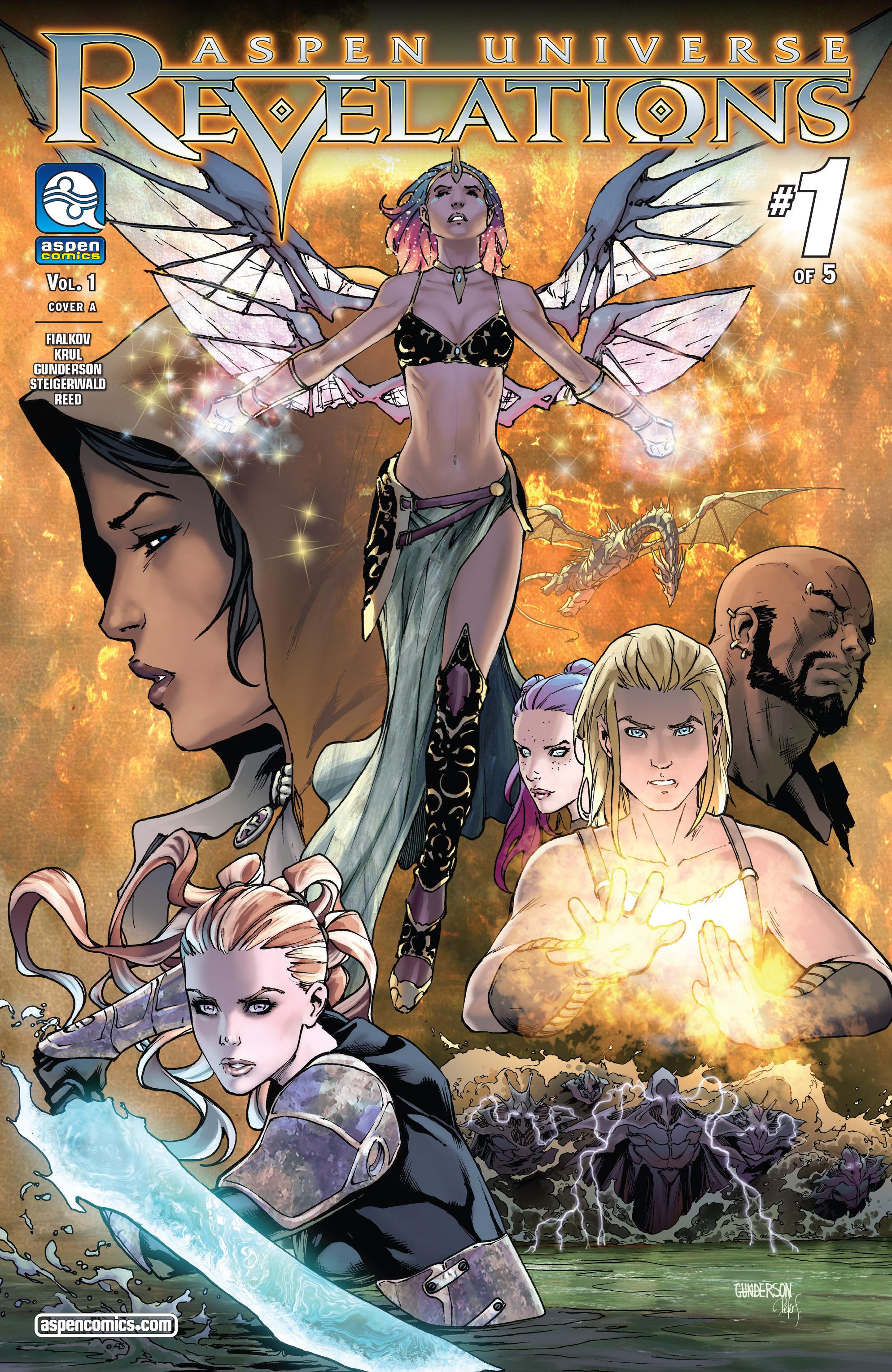 Read online Aspen Universe: Revelations comic -  Issue #1 - 1