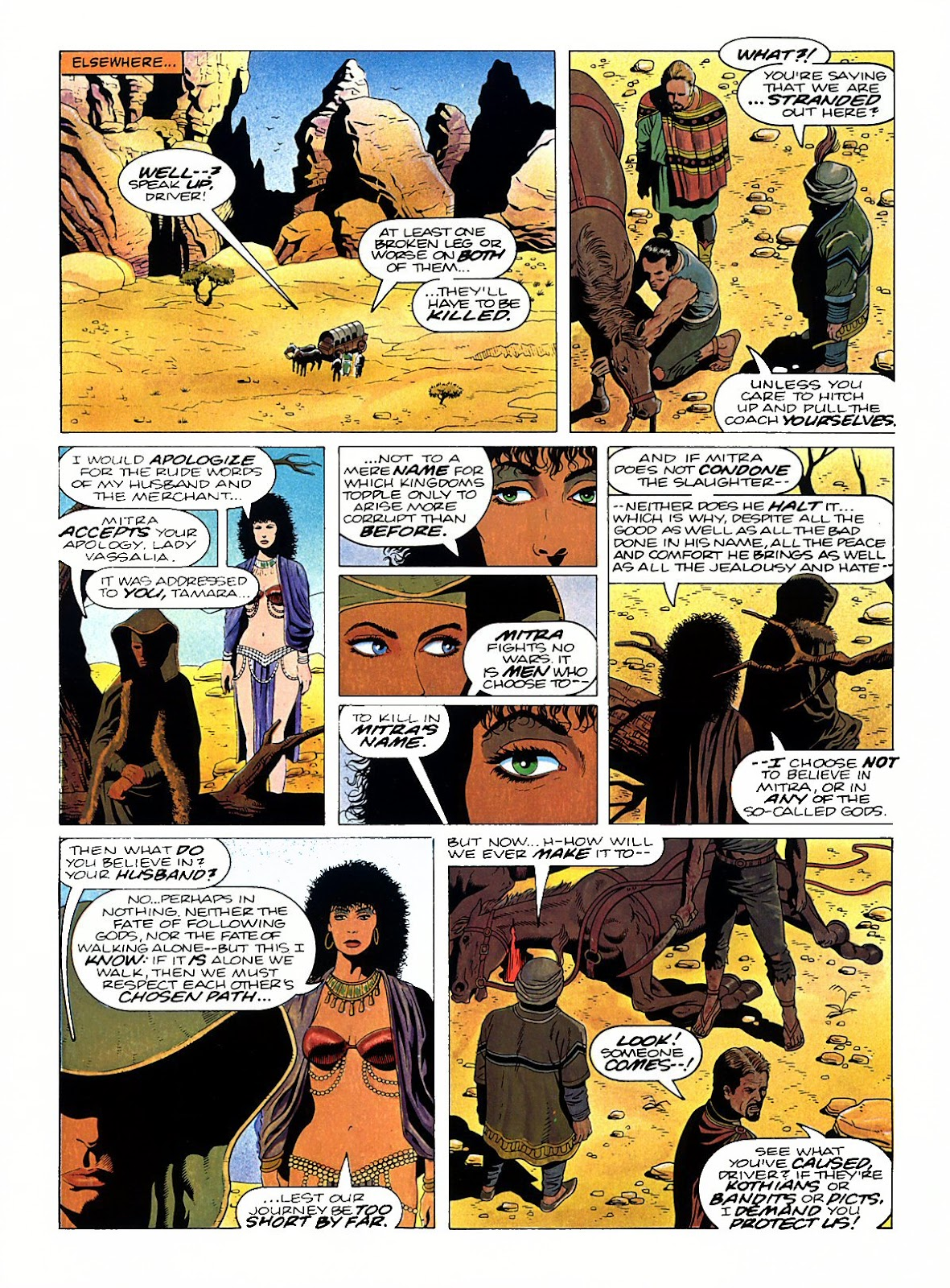 Read online Marvel Graphic Novel: Conan the Barbarian: The Skull of Set comic -  Issue # Full - 20
