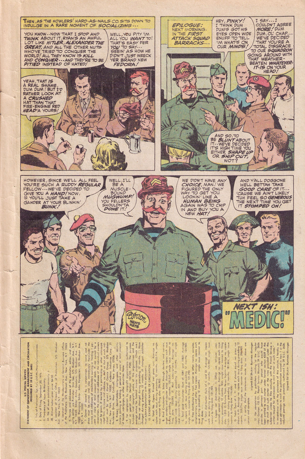 Read online Sgt. Fury comic -  Issue #140 - 33