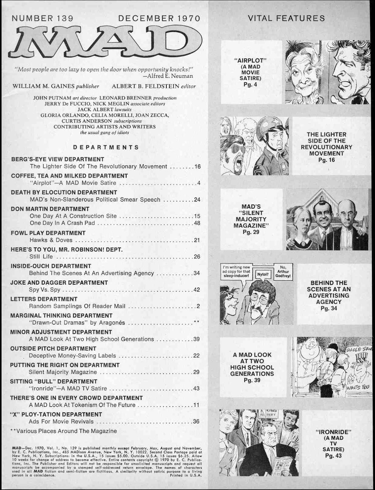 MAD issue 139 - Page 3