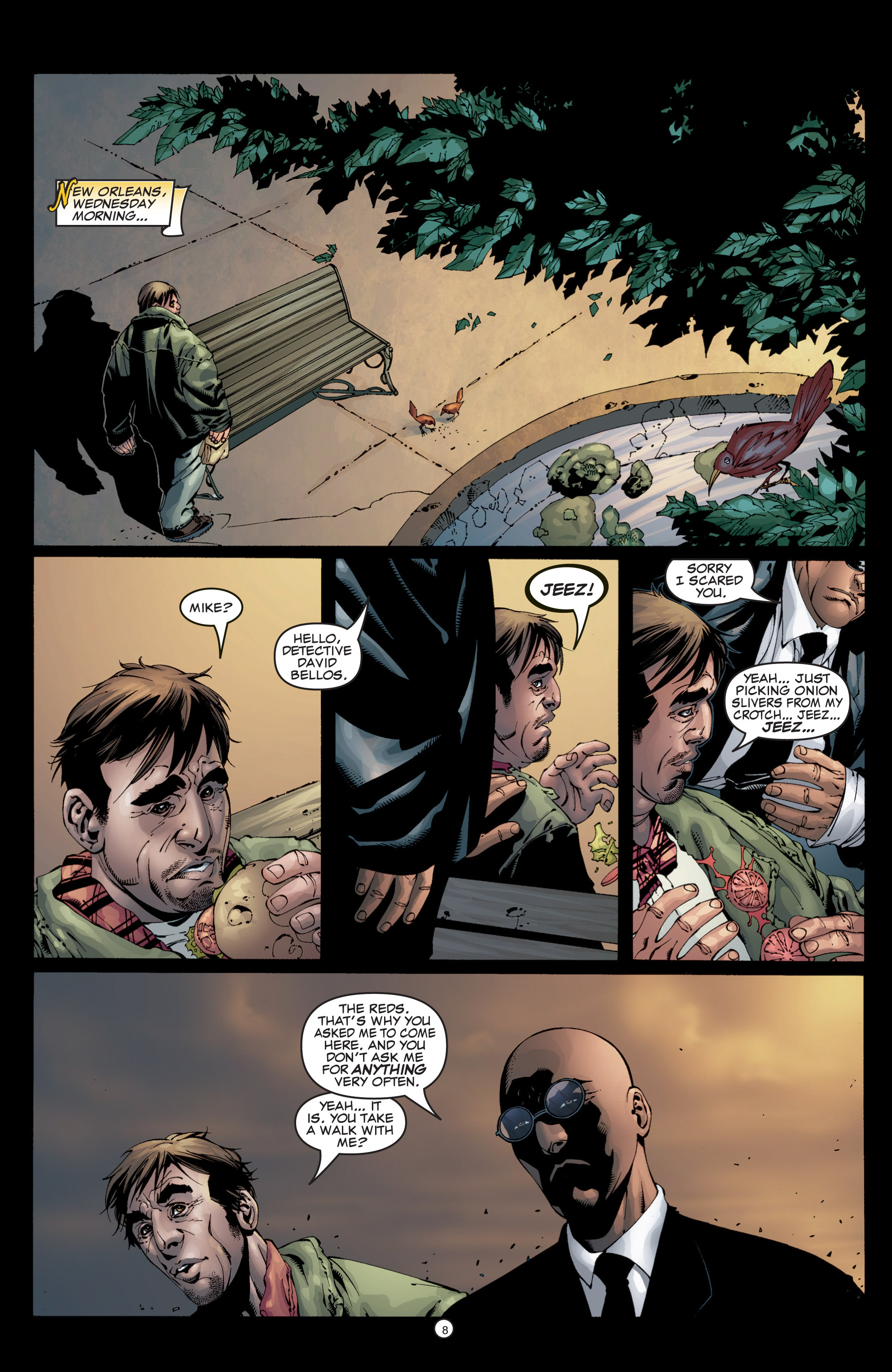 Read online Shadowman (1999) comic -  Issue #5 - 10