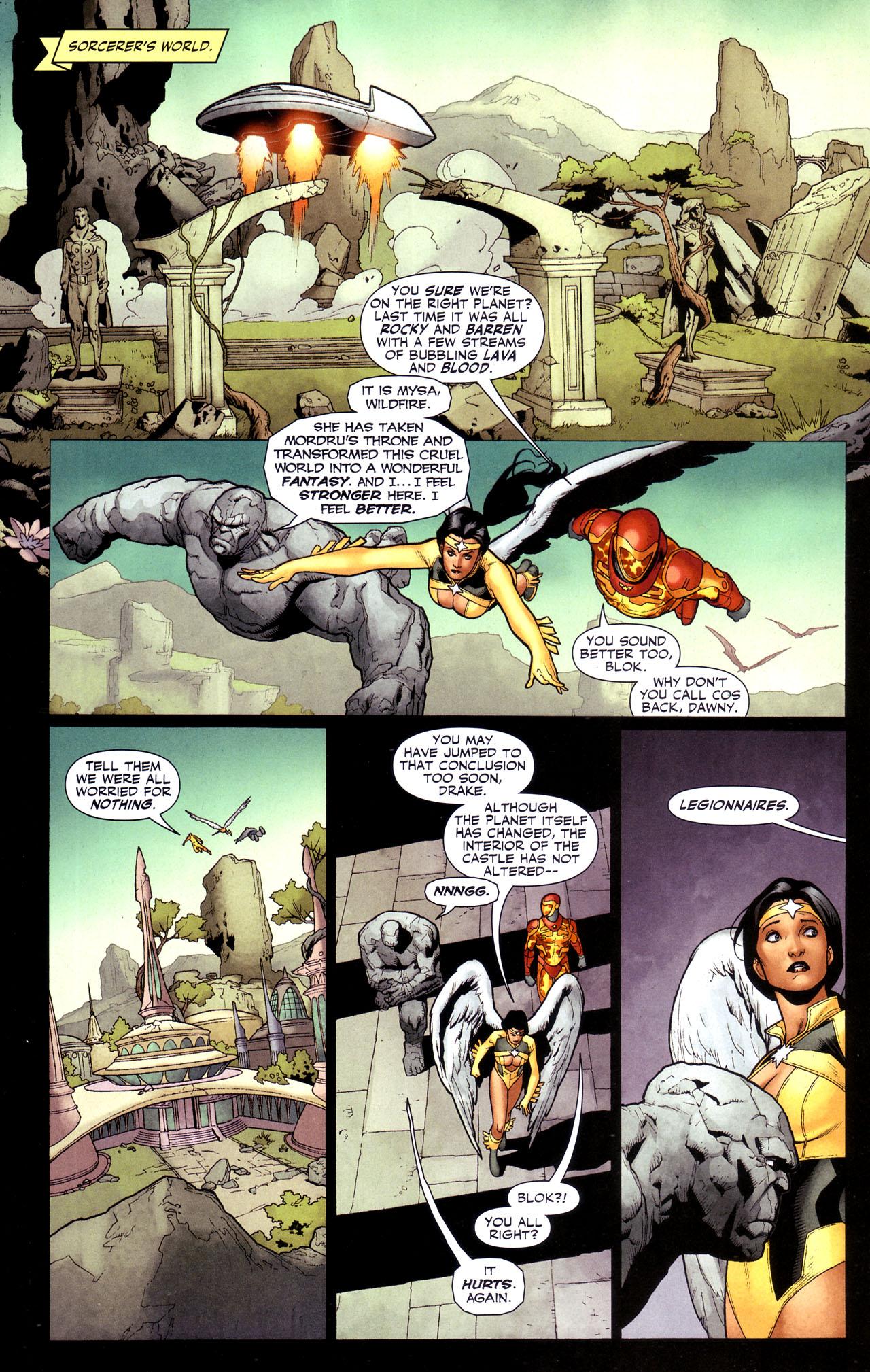Read online Adventure Comics (2009) comic -  Issue #4 - 26