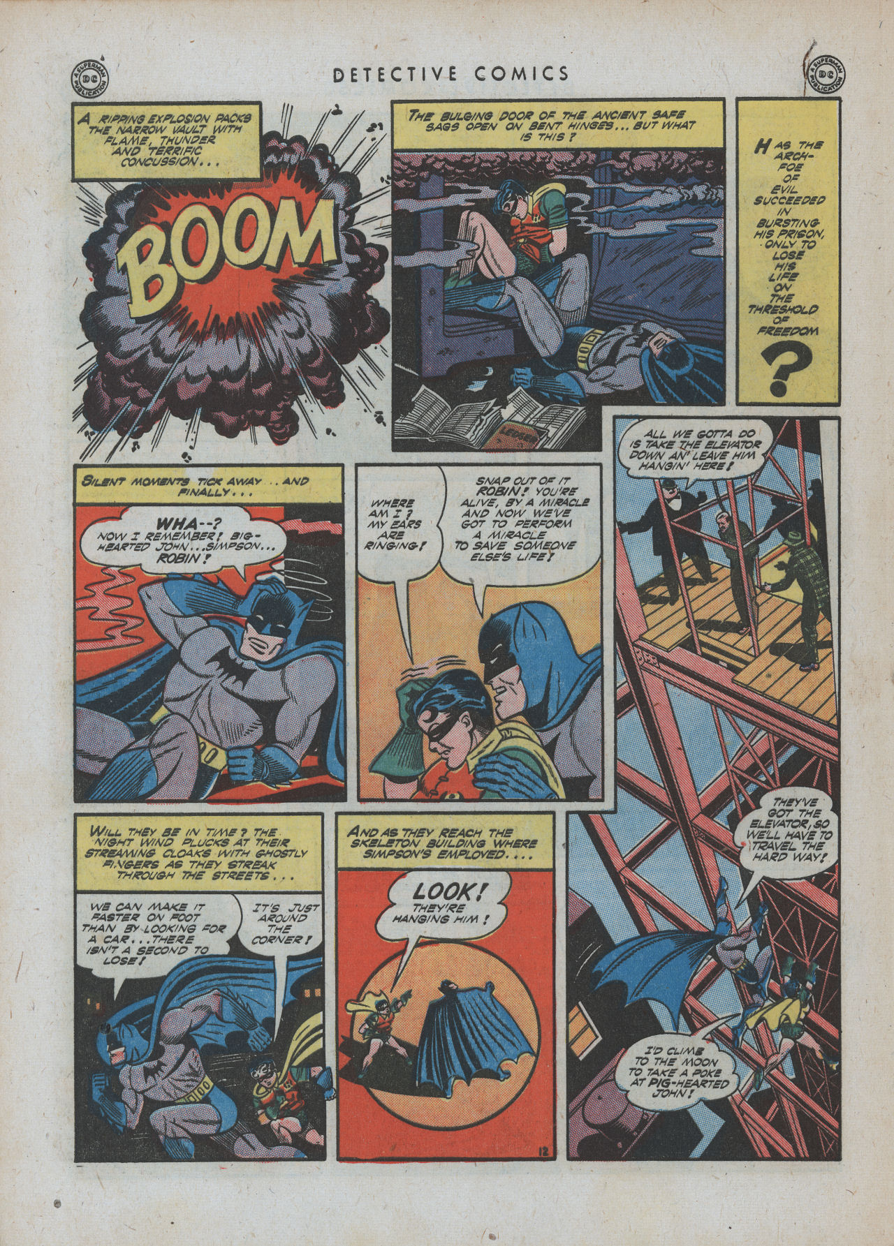 Read online Detective Comics (1937) comic -  Issue #88 - 14