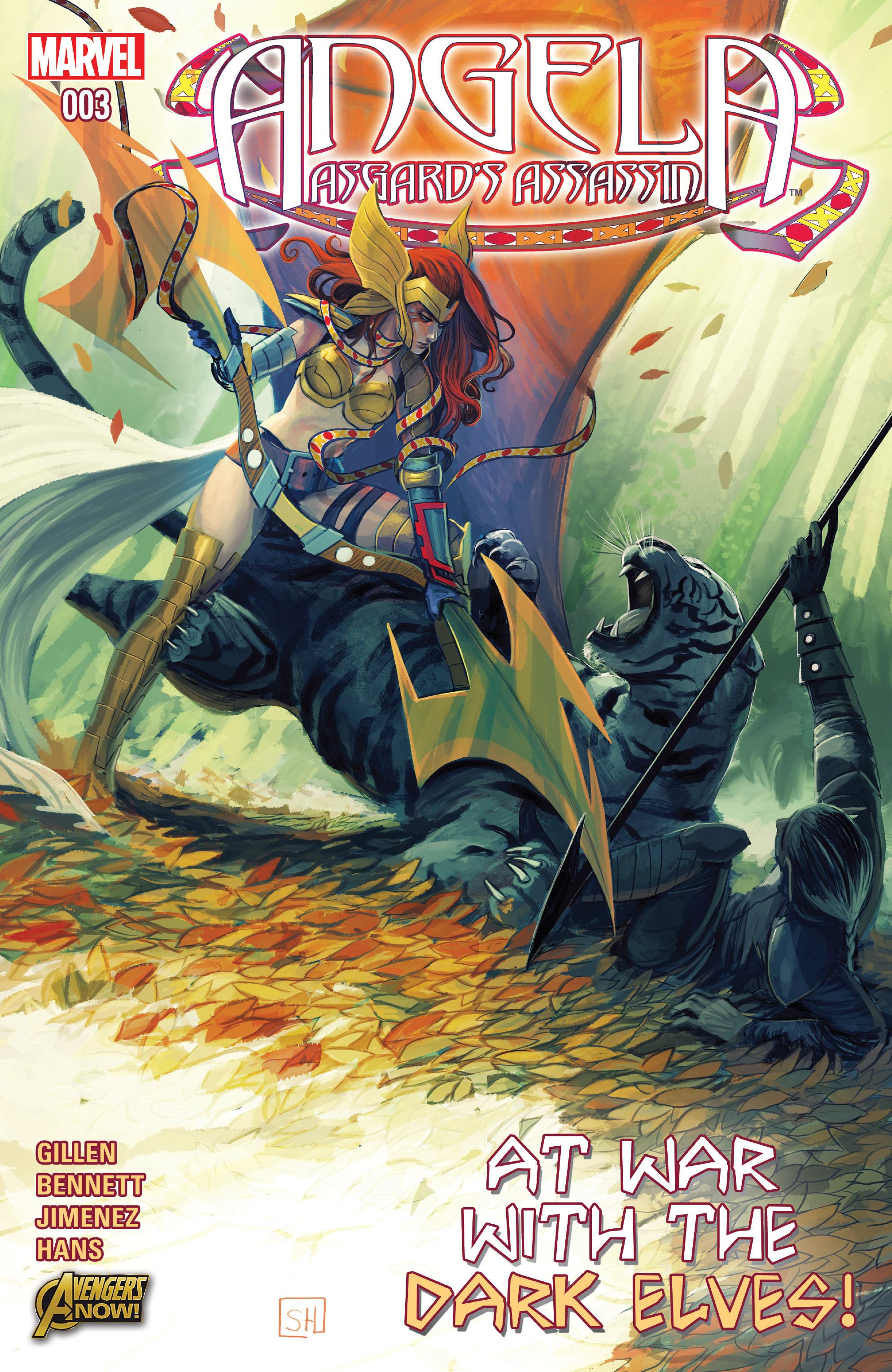 Read online Angela: Asgard's Assassin comic -  Issue #3 - 1
