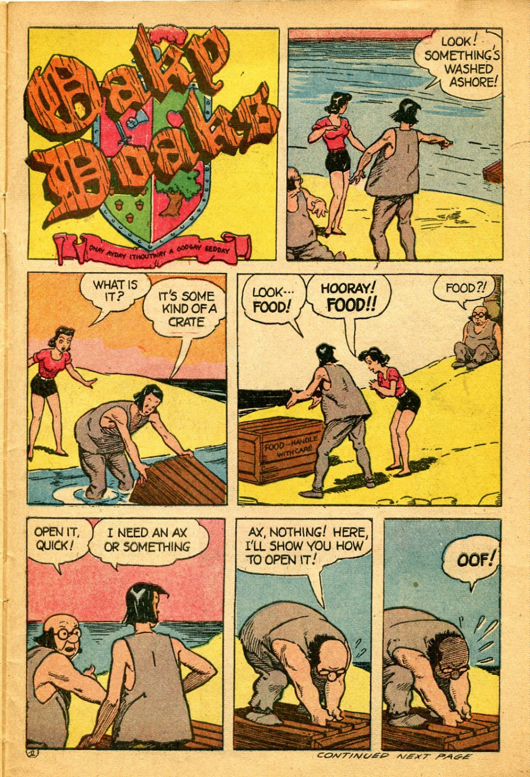 Read online Famous Funnies comic -  Issue #134 - 31