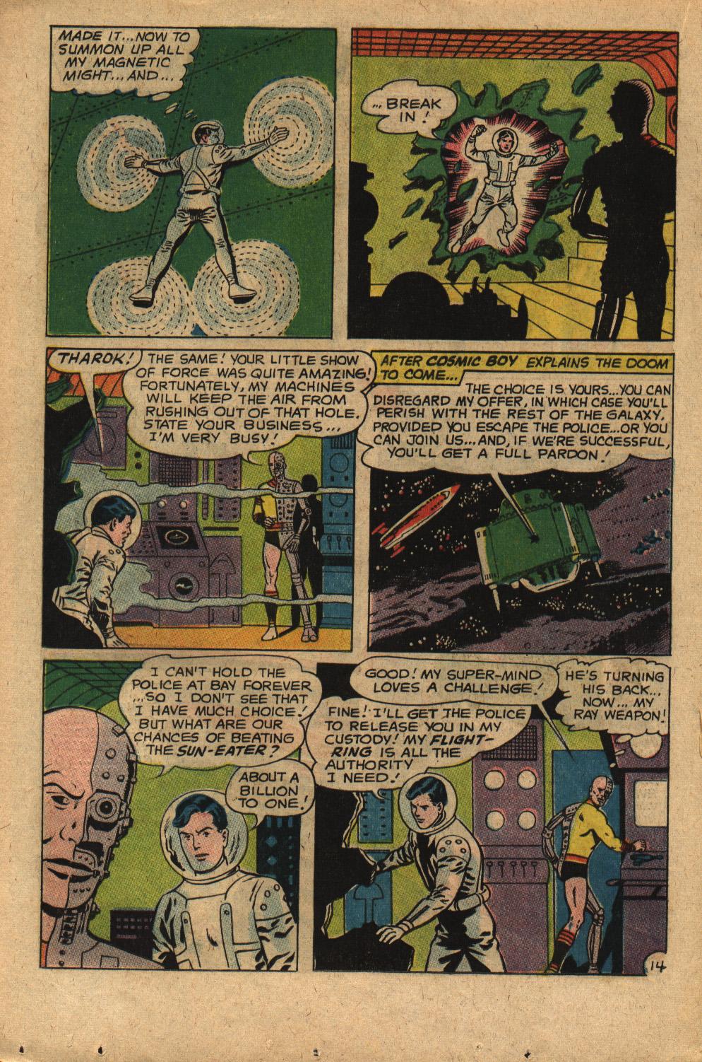 Read online Adventure Comics (1938) comic -  Issue #352 - 20