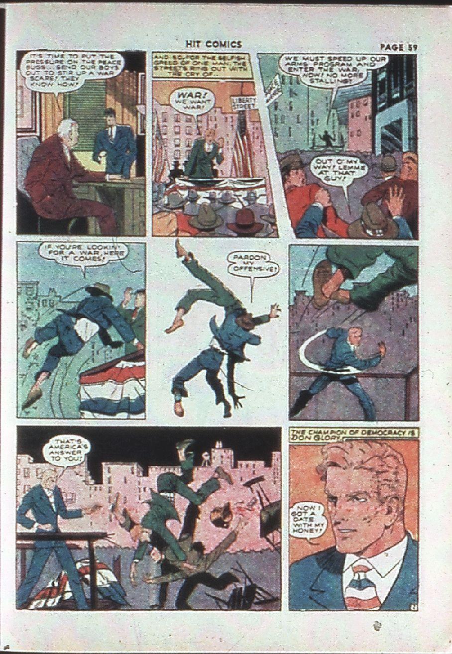 Read online Hit Comics comic -  Issue #10 - 61
