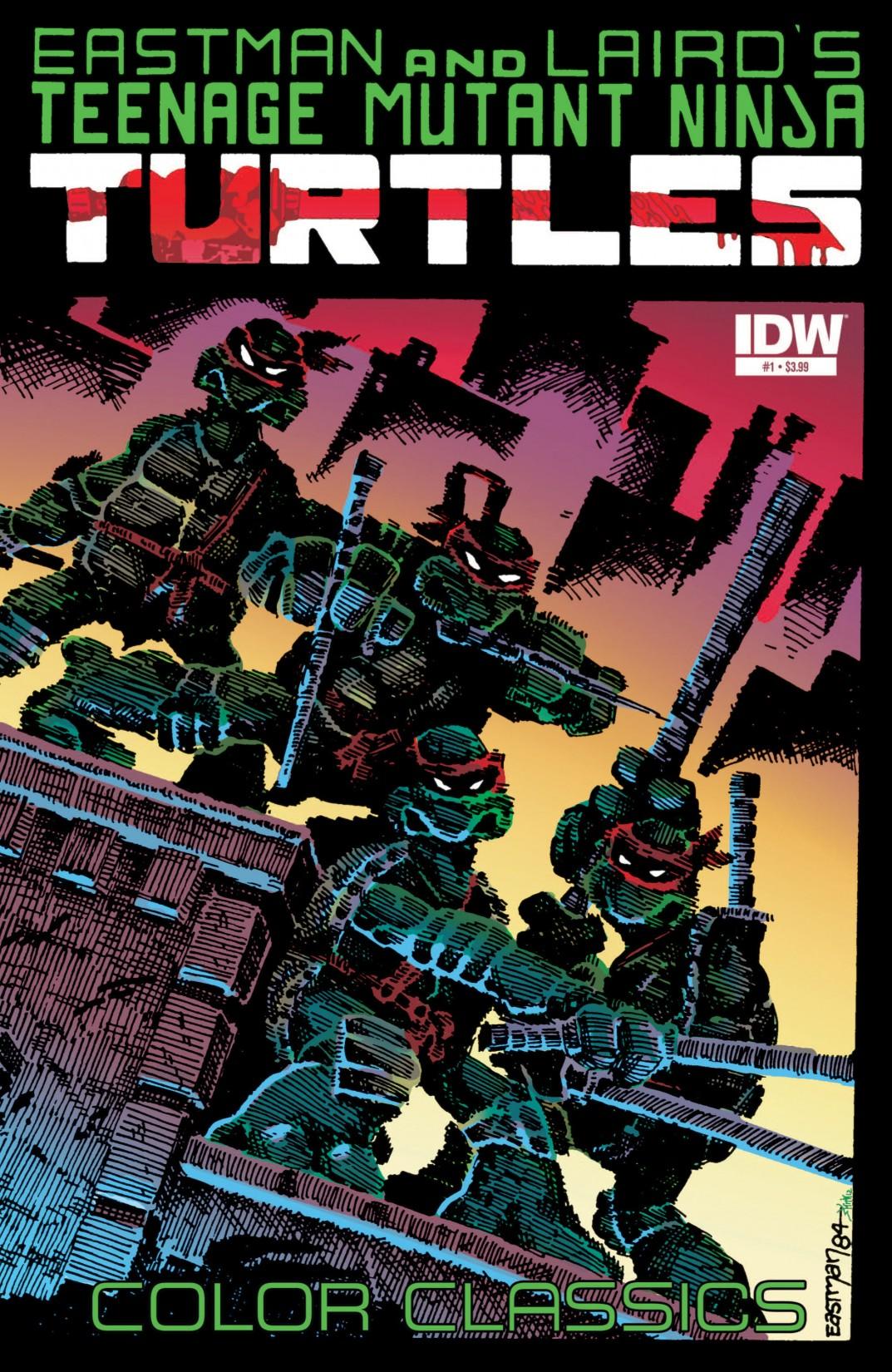 Teenage Mutant Ninja Turtles Color Classics (2012) issue 1 - Page 1