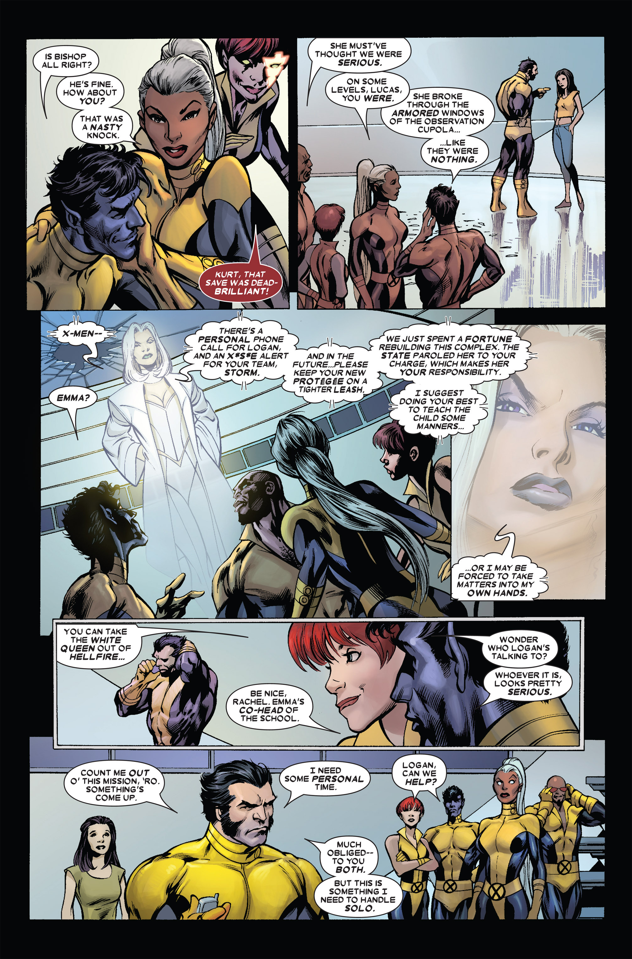 Read online Uncanny X-Men (1963) comic -  Issue #455 - 13