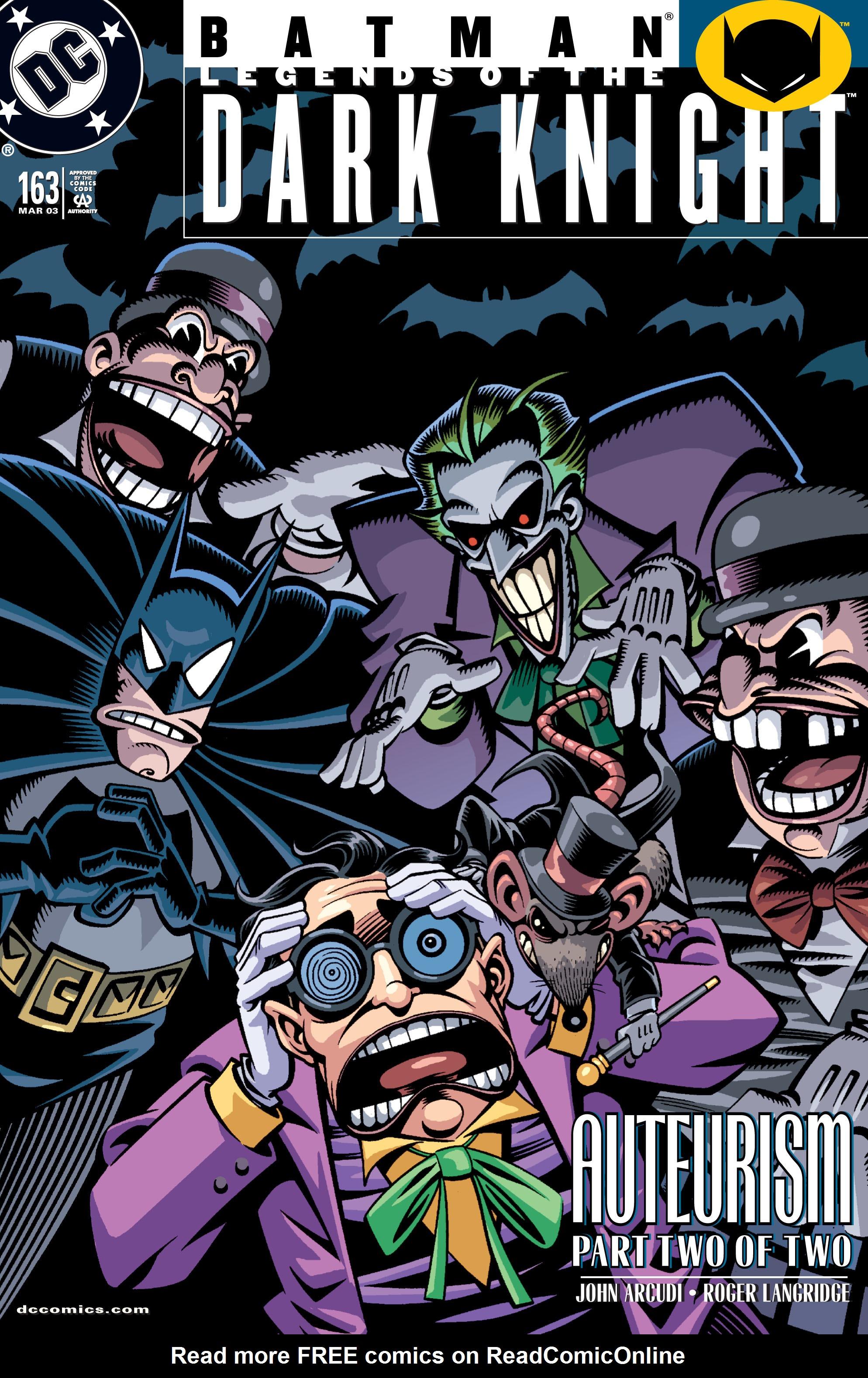 Batman: Legends of the Dark Knight 163 Page 1