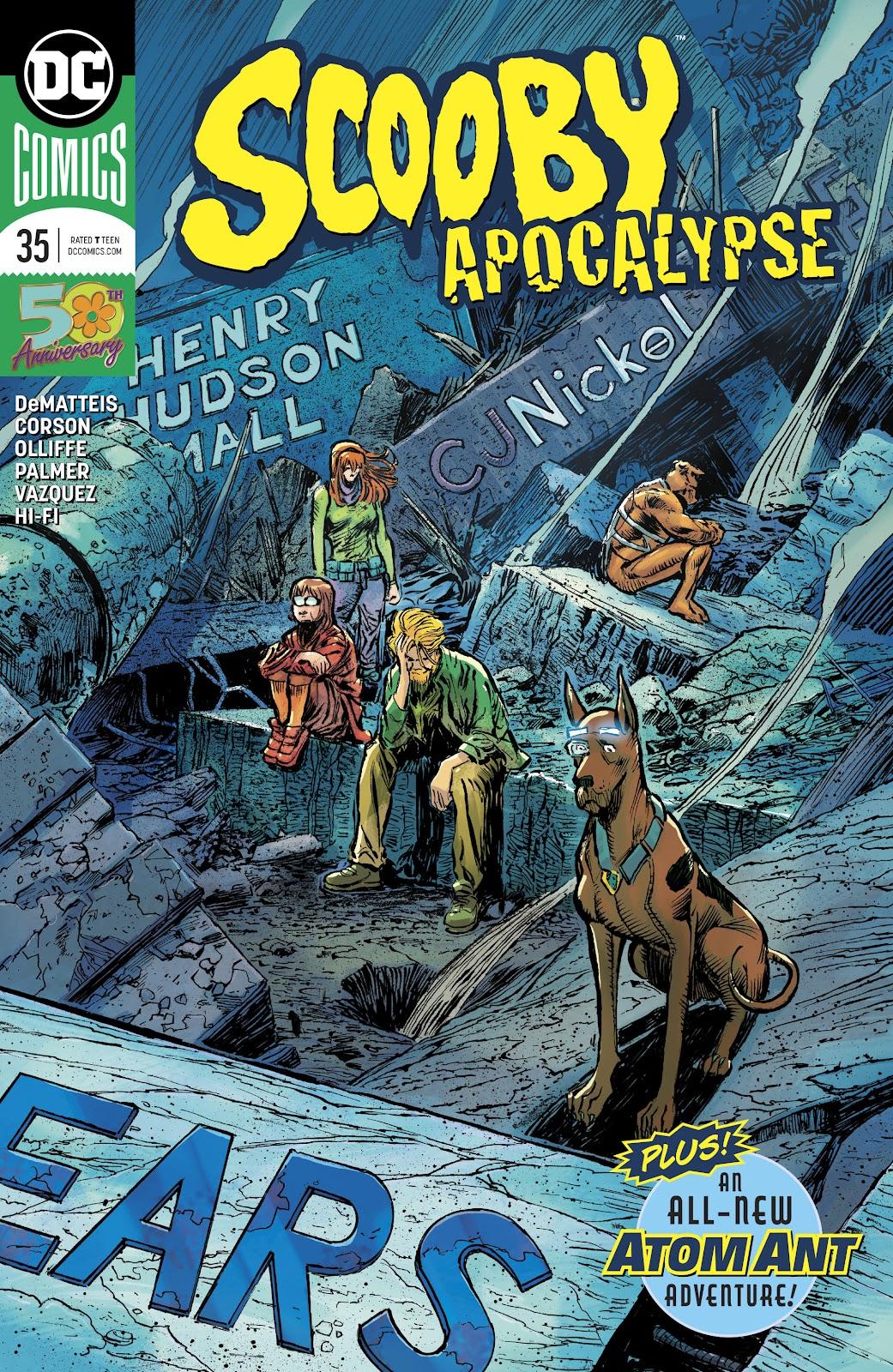 Read online Scooby Apocalypse comic -  Issue #35 - 1