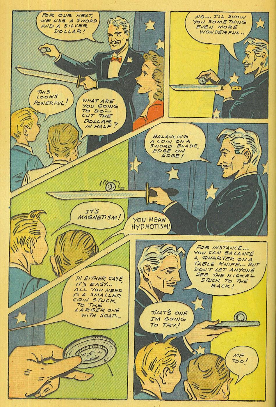 Read online Super-Magician Comics comic -  Issue #39 - 19