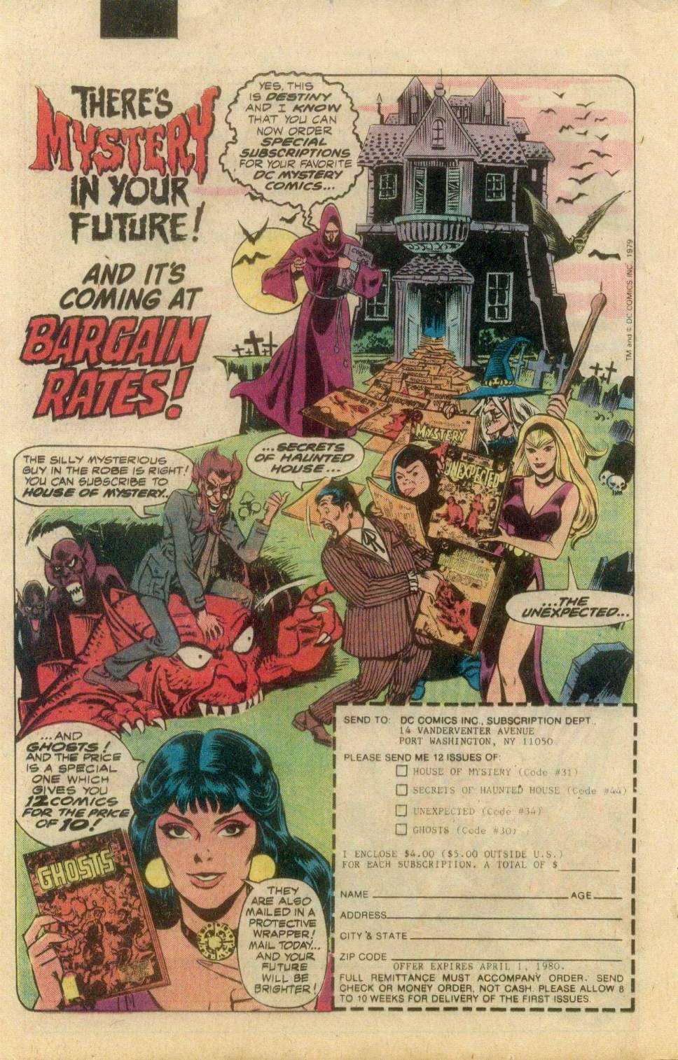Read online Secrets of Haunted House comic -  Issue #22 - 23
