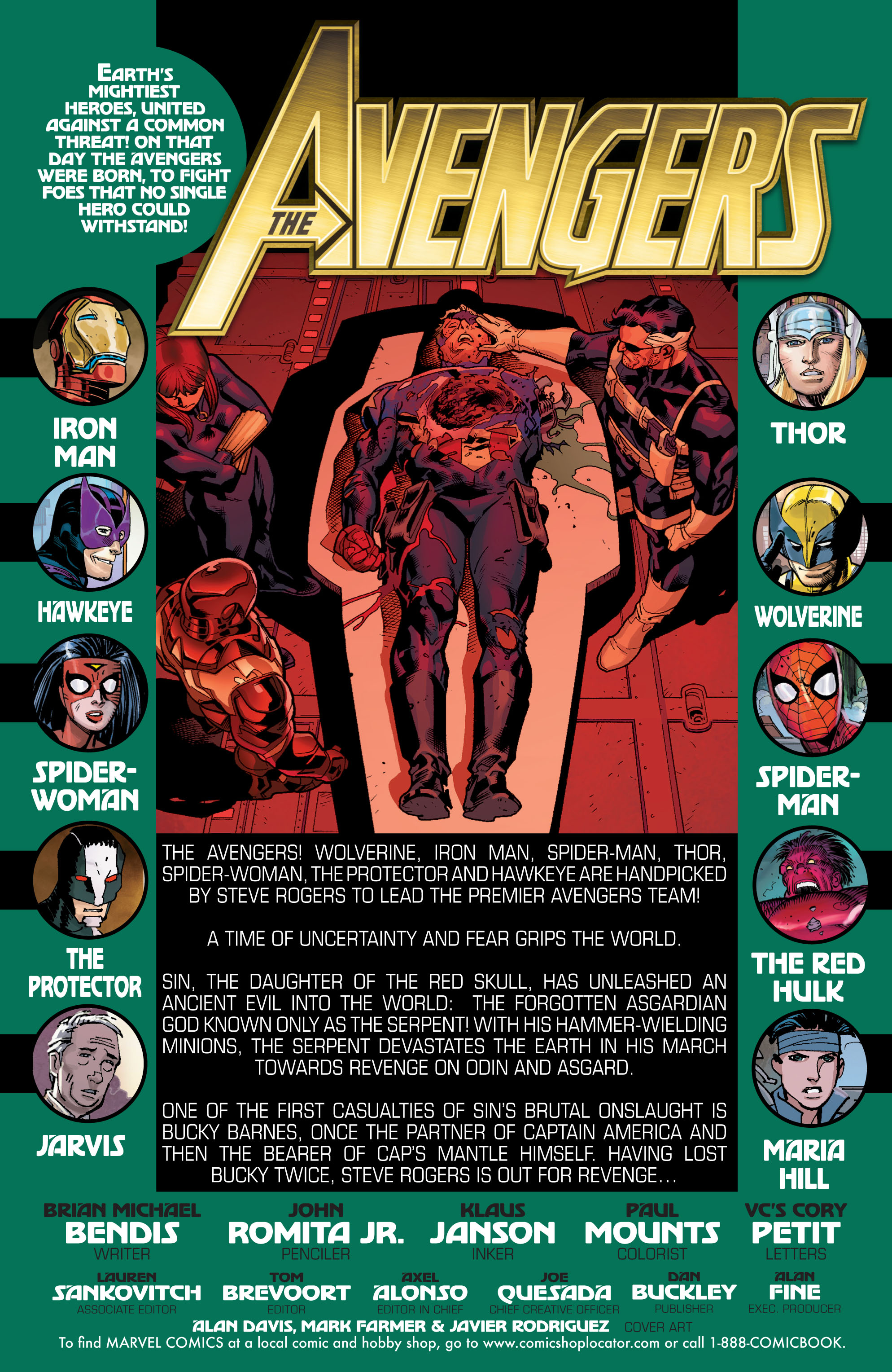 Read online Avengers (2010) comic -  Issue #16 - 2