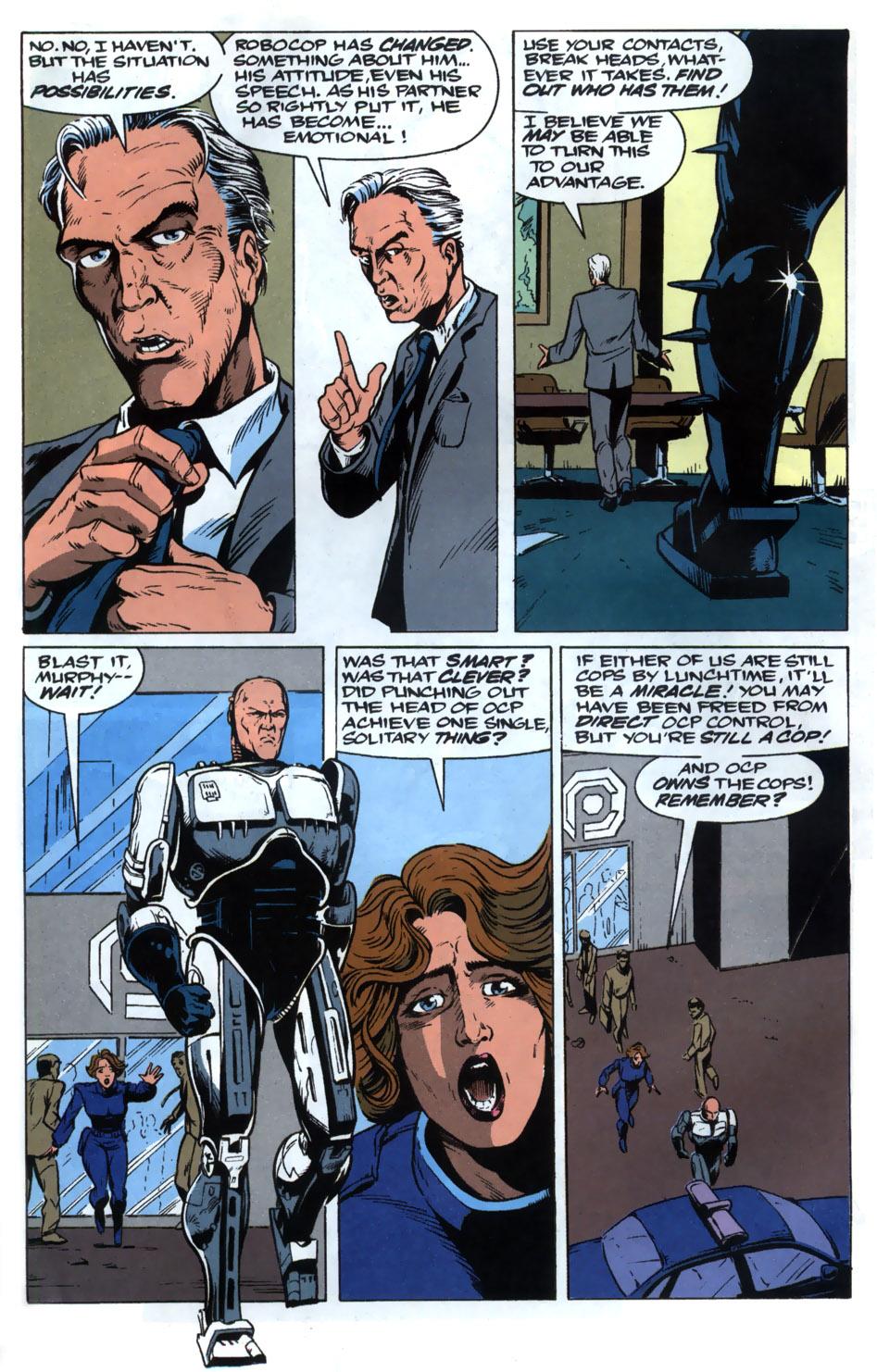 Read online Robocop (1990) comic -  Issue #20 - 5