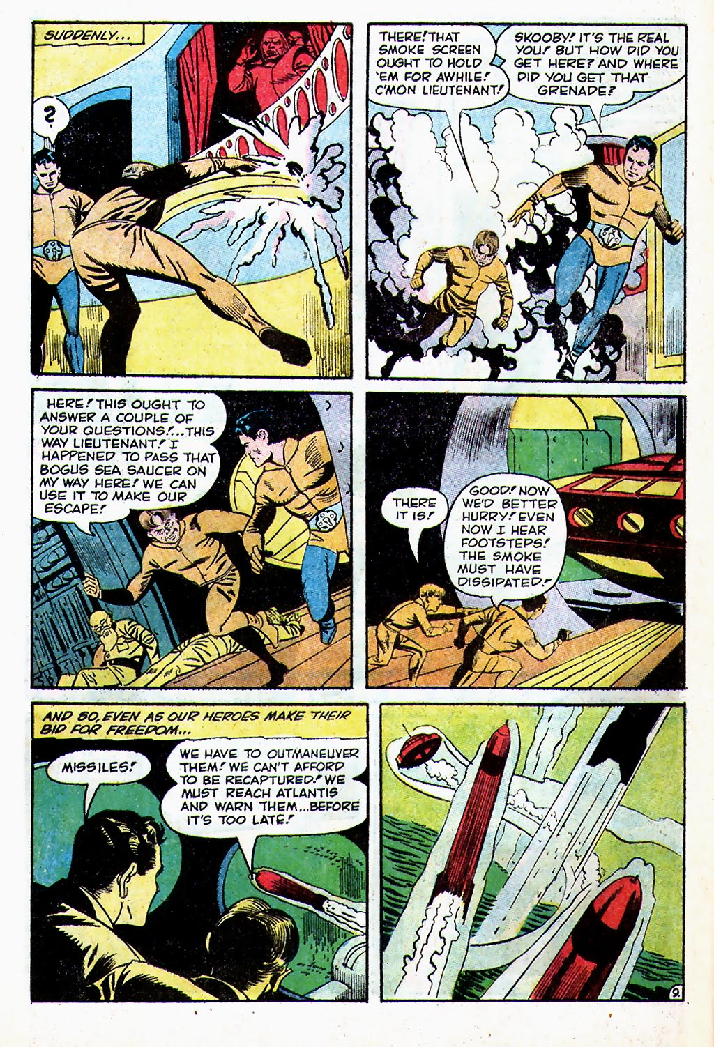 T.H.U.N.D.E.R. Agents (1965) issue 13 - Page 54