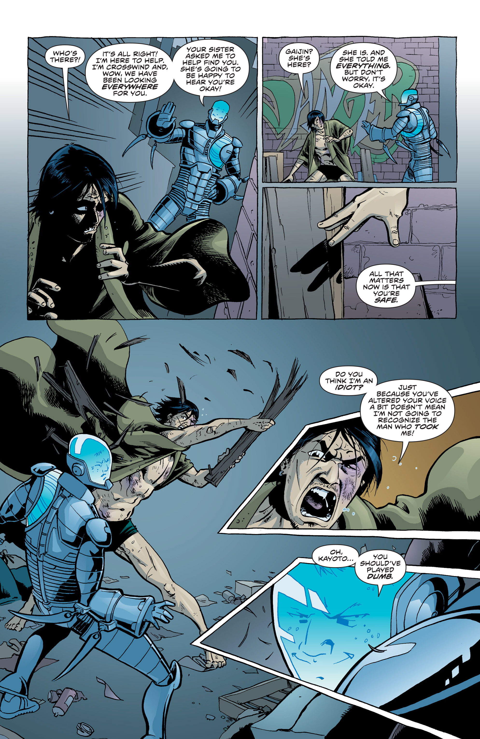 Read online Secret Identities comic -  Issue #6 - 15