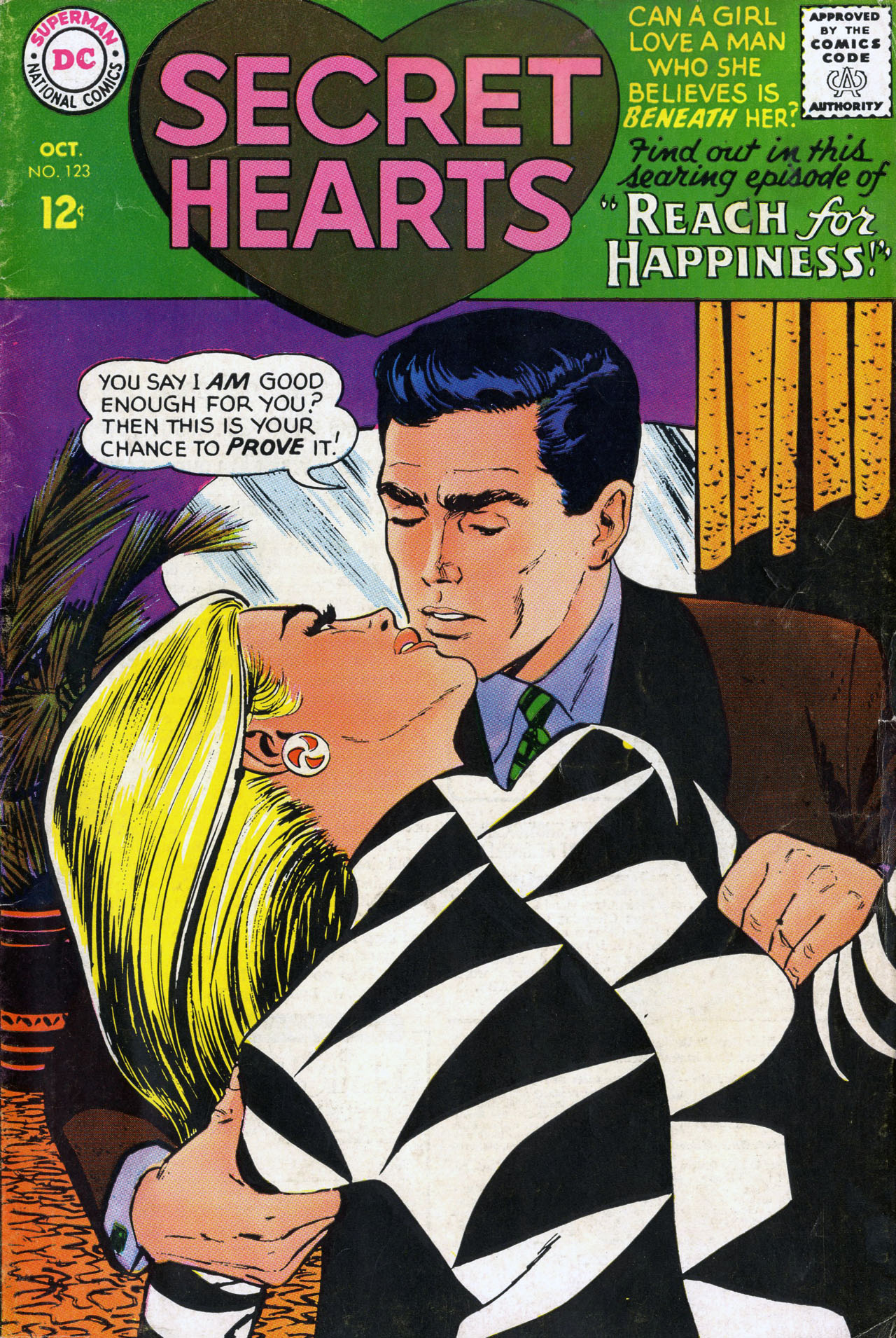 Read online Secret Hearts comic -  Issue #123 - 37