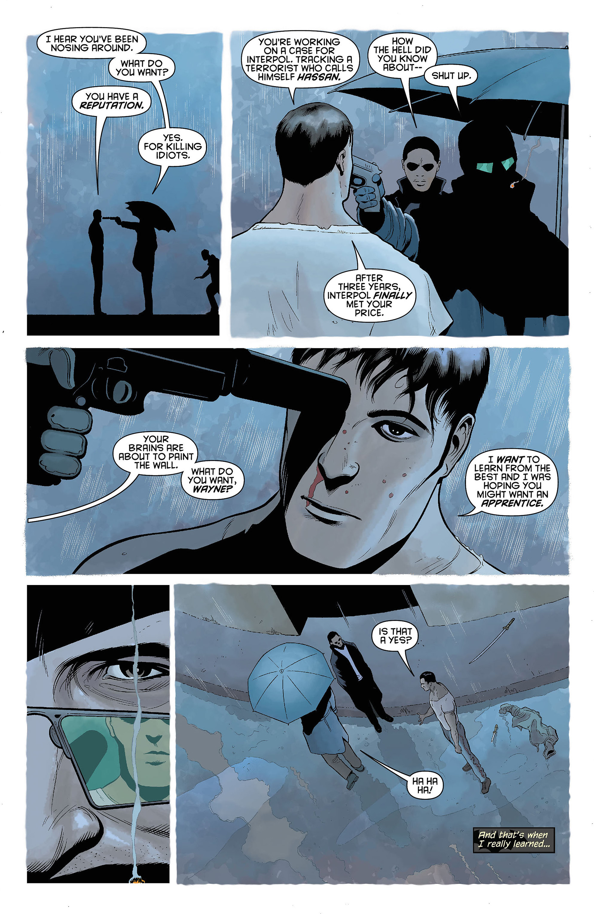 Read online Batman and Robin (2011) comic -  Issue #5 - 16