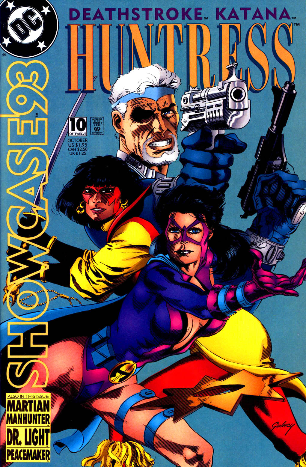 Read online Showcase '93 comic -  Issue #10 - 1