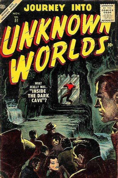 Journey Into Unknown Worlds (1950) issue 51 - Page 1