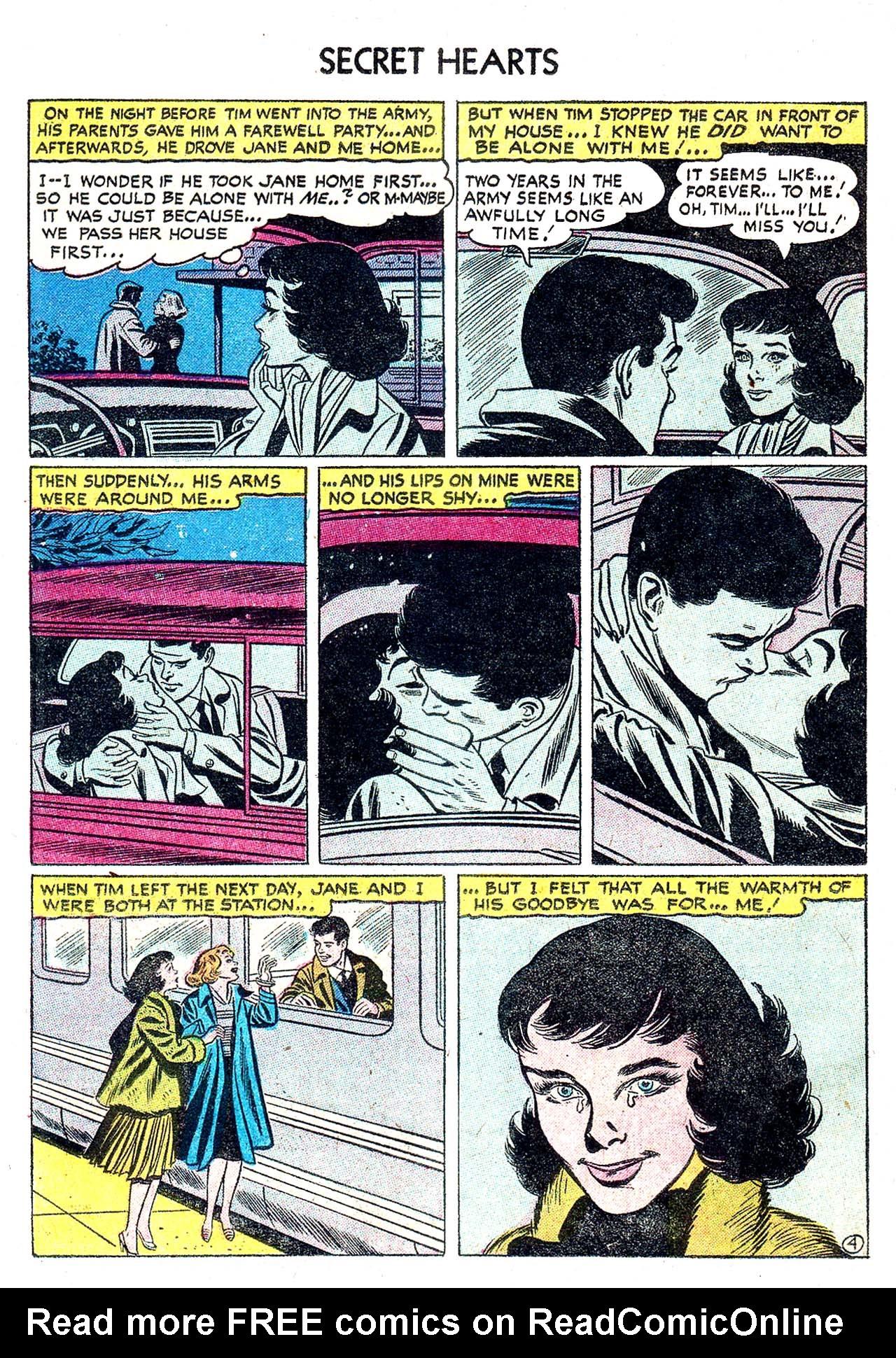 Read online Secret Hearts comic -  Issue #32 - 22