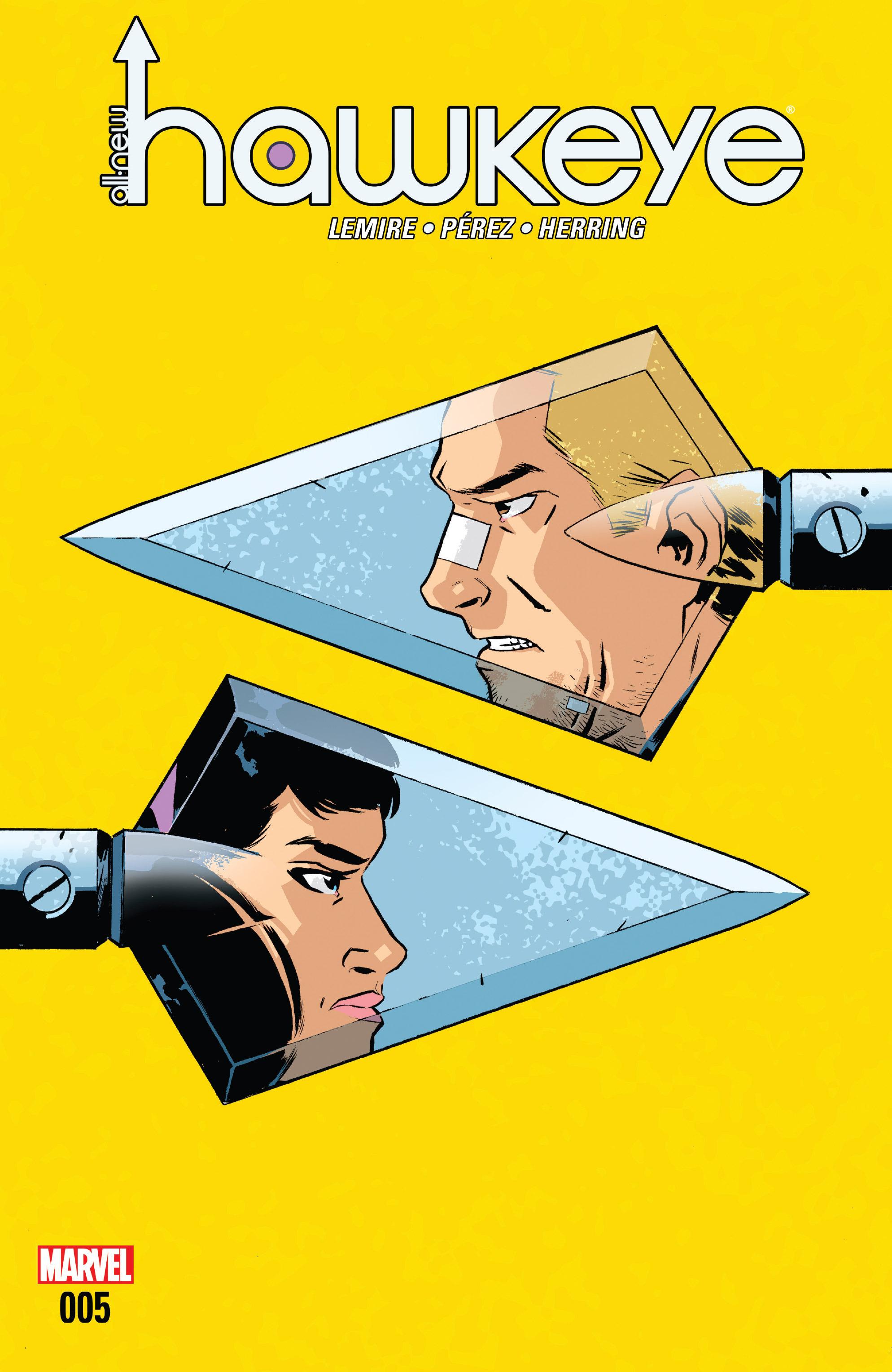 Read online All-New Hawkeye (2016) comic -  Issue #5 - 1