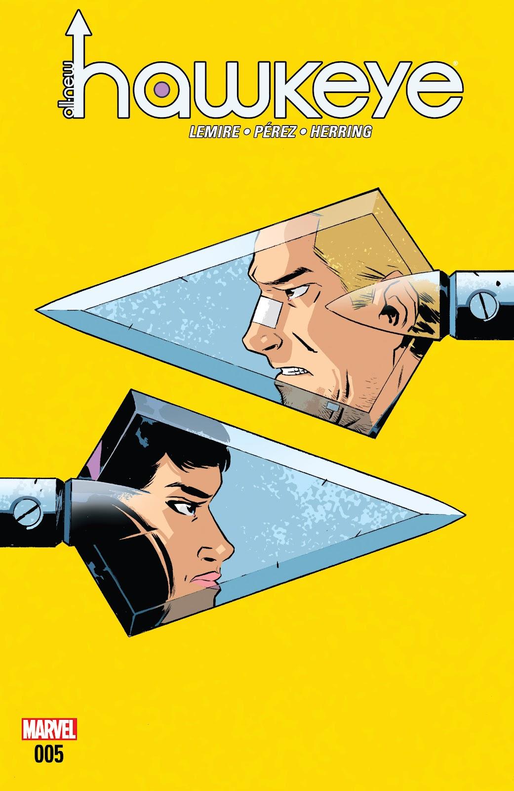 All-New Hawkeye (2016) 5 Page 1