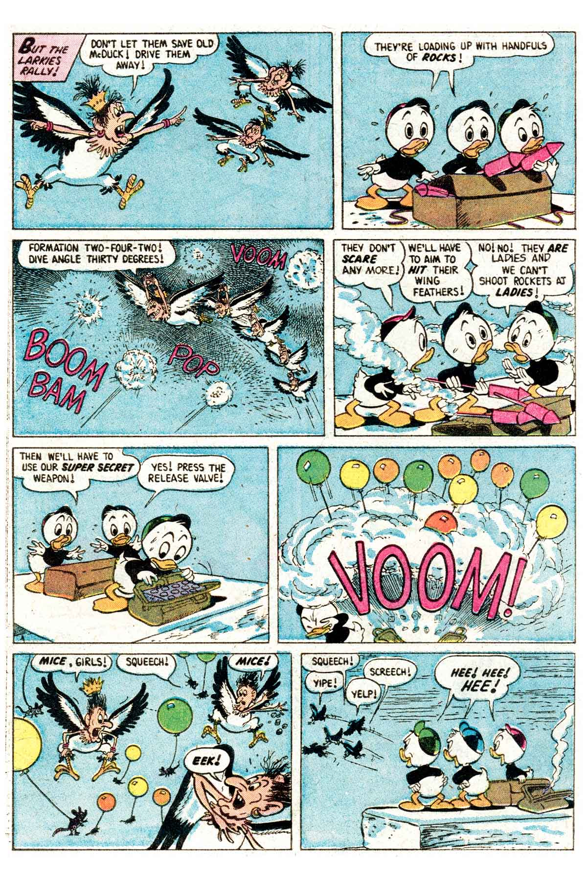 Read online Uncle Scrooge (1953) comic -  Issue #203 - 28