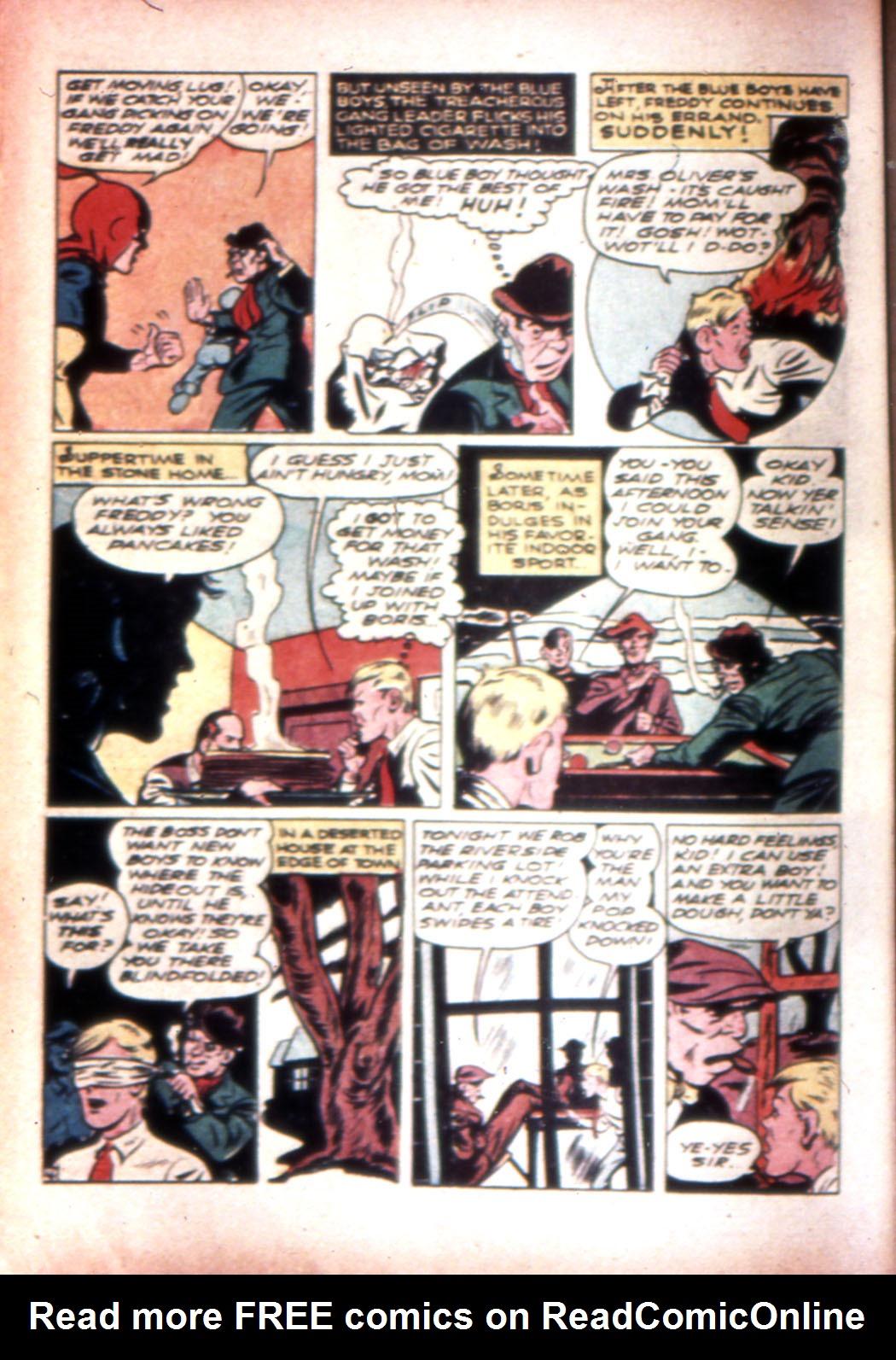 Read online Sensation (Mystery) Comics comic -  Issue #20 - 28