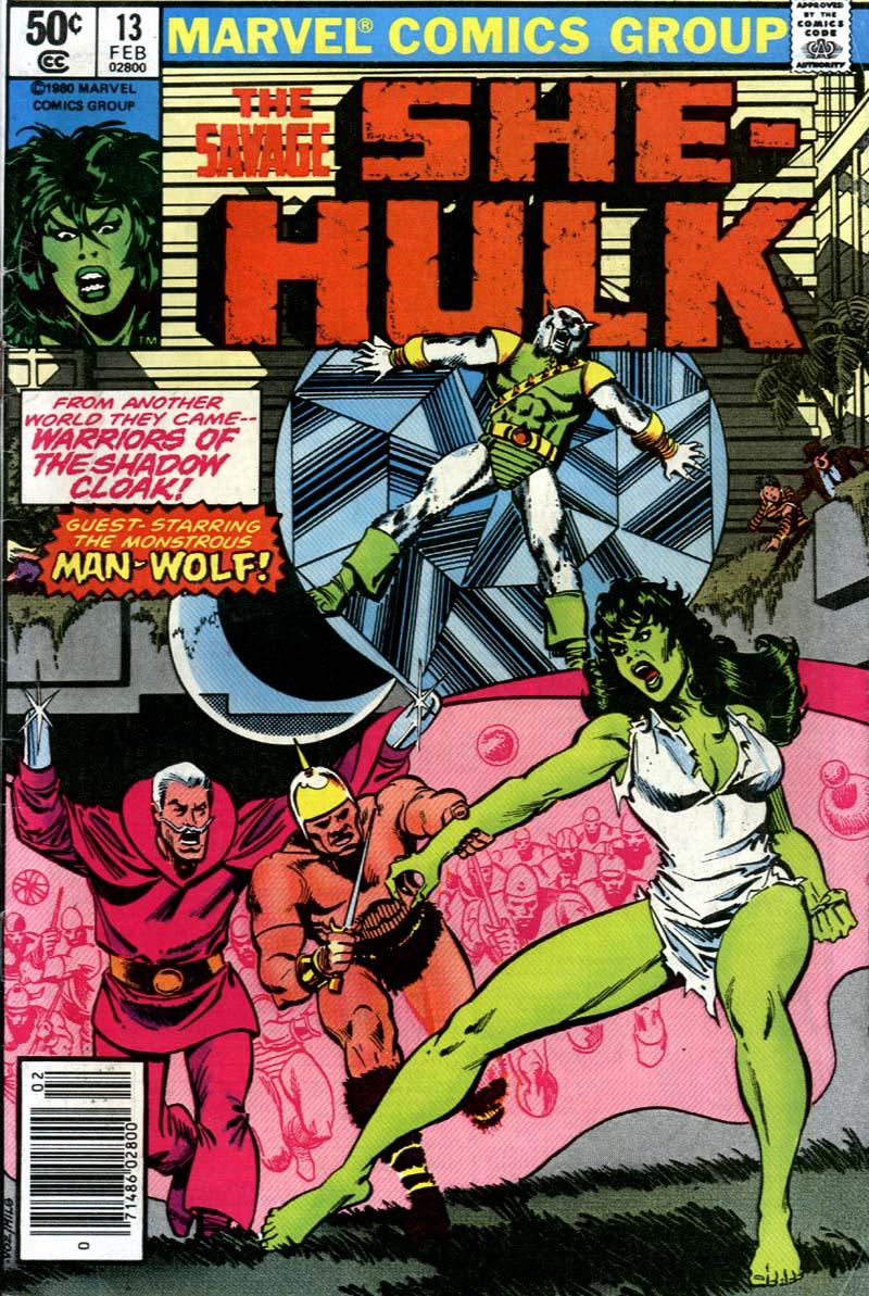 The Savage She-Hulk 13 Page 1
