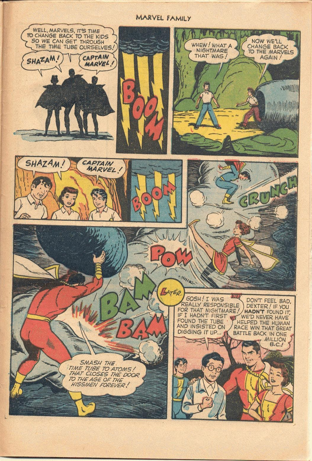The Marvel Family issue 74 - Page 33