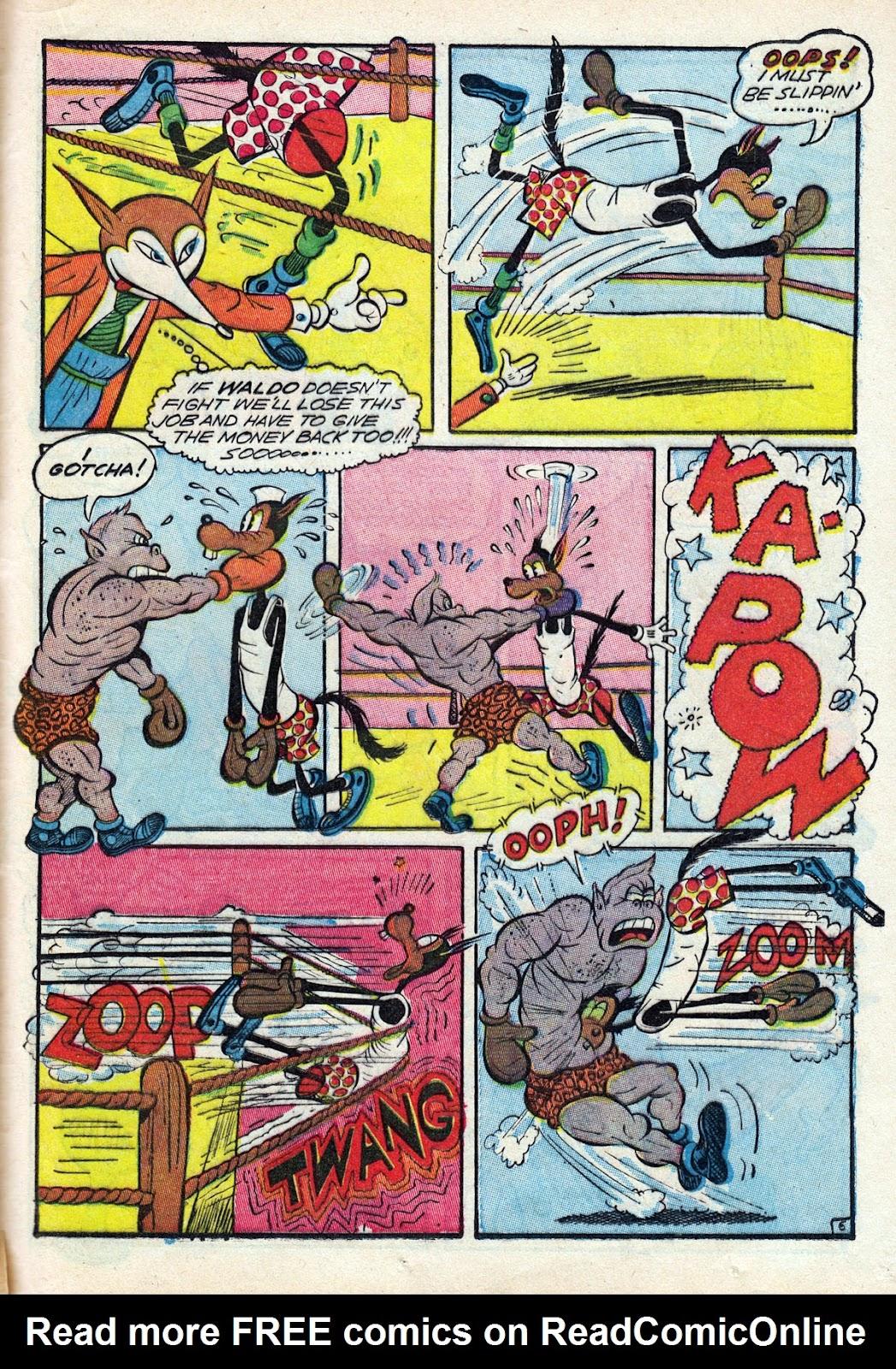 Read online Comedy Comics (1942) comic -  Issue #14 - 47