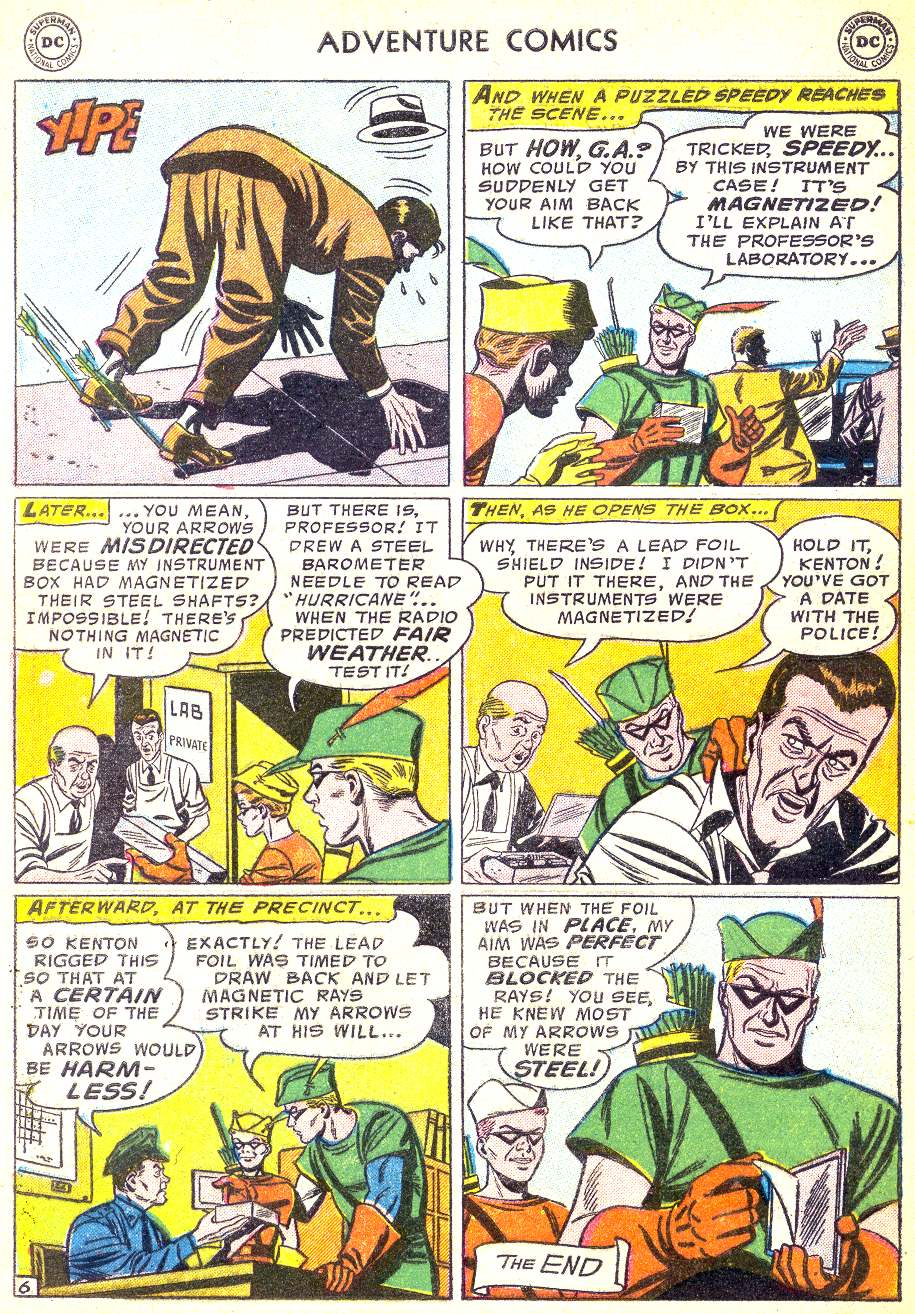 Read online Adventure Comics (1938) comic -  Issue #218 - 32