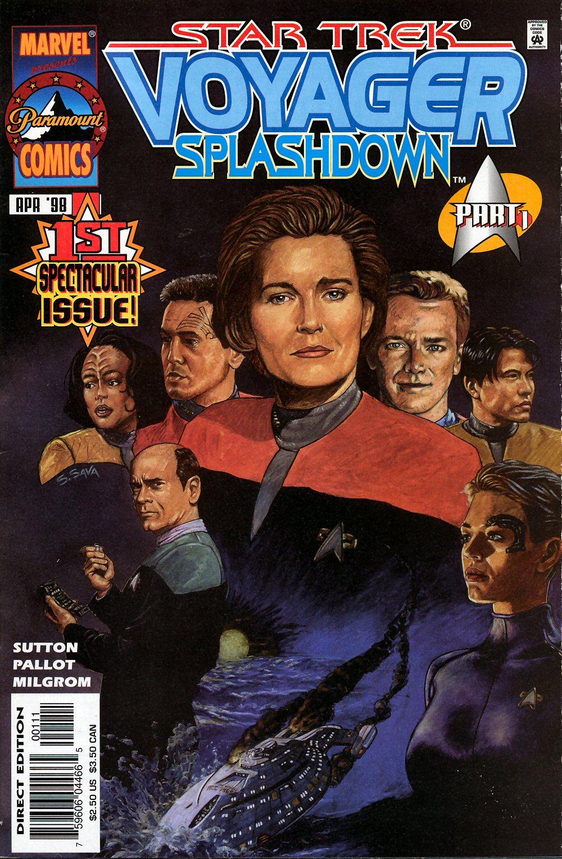 Star Trek: Voyager--Splashdown issue 1 - Page 1