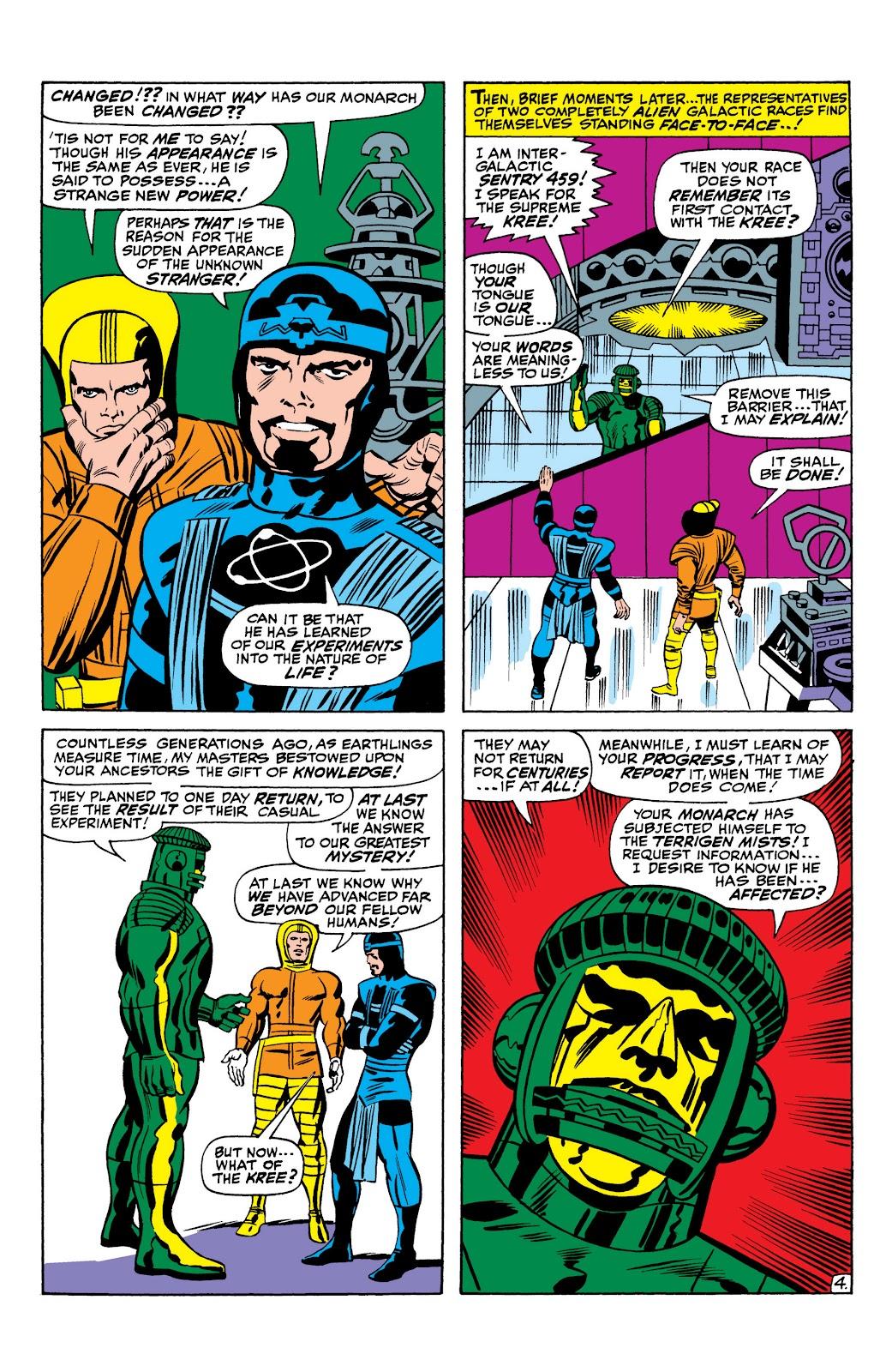 Read online Marvel Masterworks: The Inhumans comic -  Issue # TPB 1 (Part 1) - 16