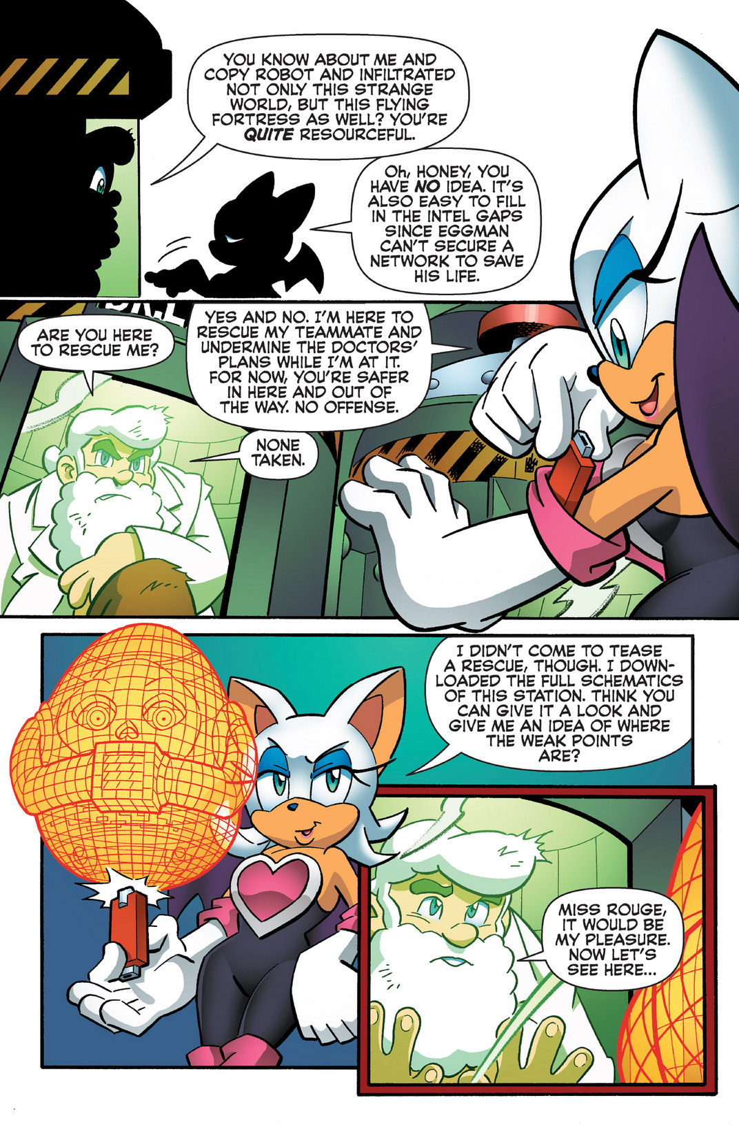 Read online Sonic Mega Man Worlds Collide comic -  Issue # Vol 2 - 71