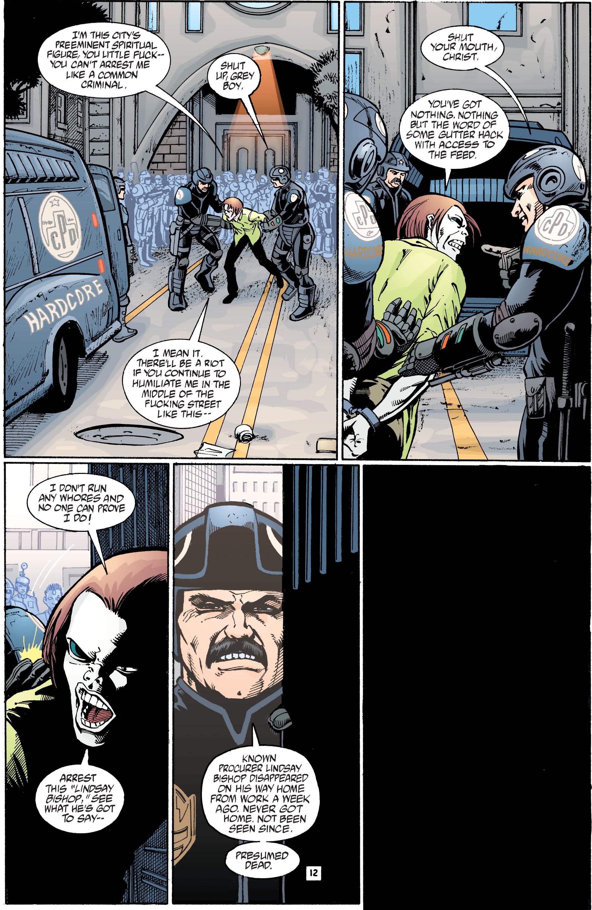 Read online Transmetropolitan comic -  Issue #39 - 13